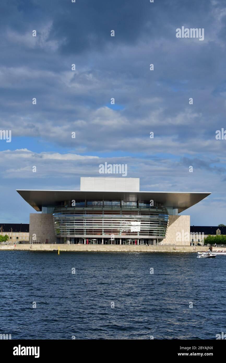 Copenhagen Opera House, Operaen, Copenhagen, København, Denmark, Europe Stock Photo