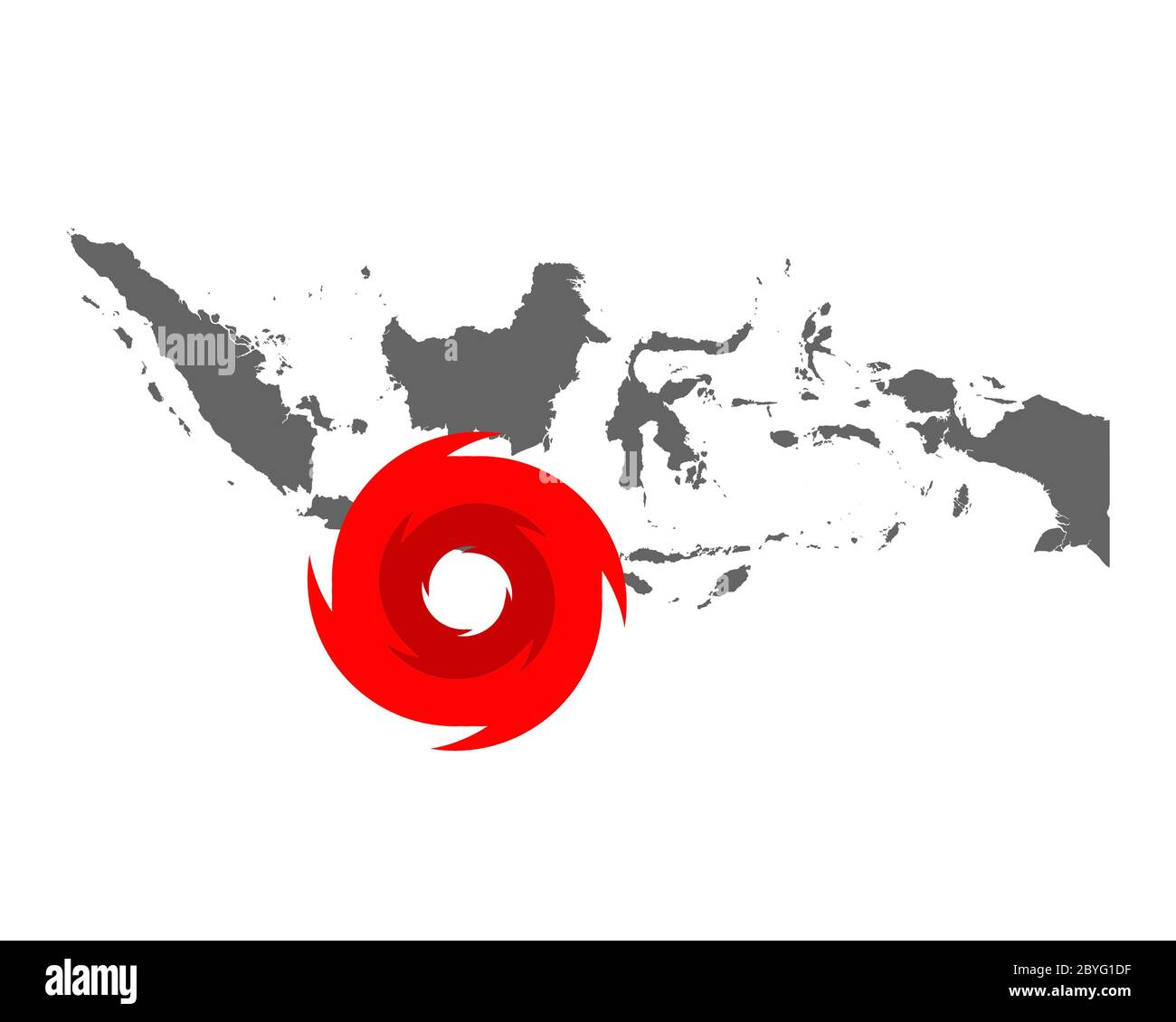 Map Of Indonesia And Hurricane Symbol Stock Photo Alamy You have come to the right place! alamy