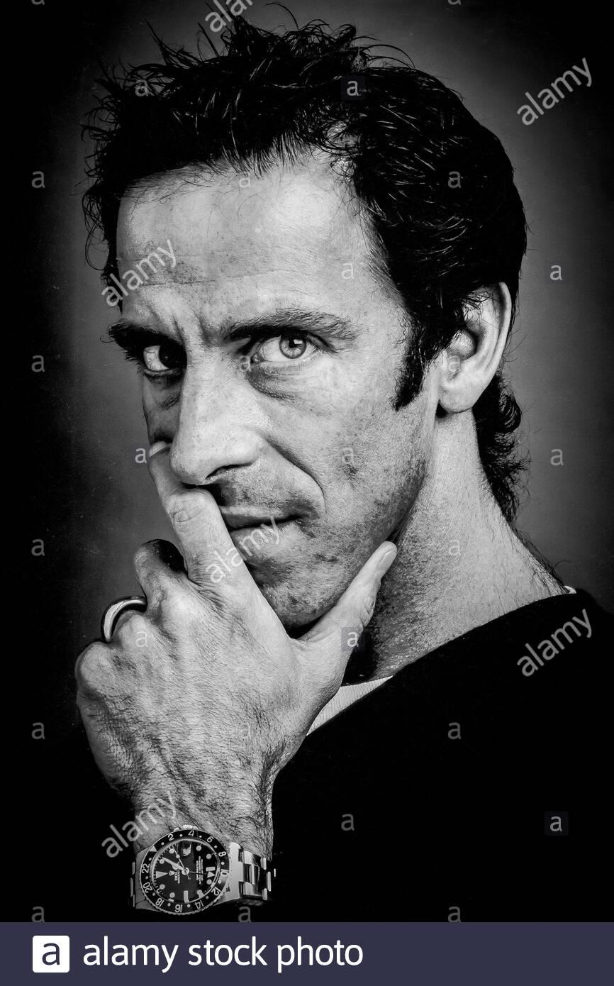 Portrait Of London Based American Fashion Designer Ben De Lisi Stock Photo Alamy