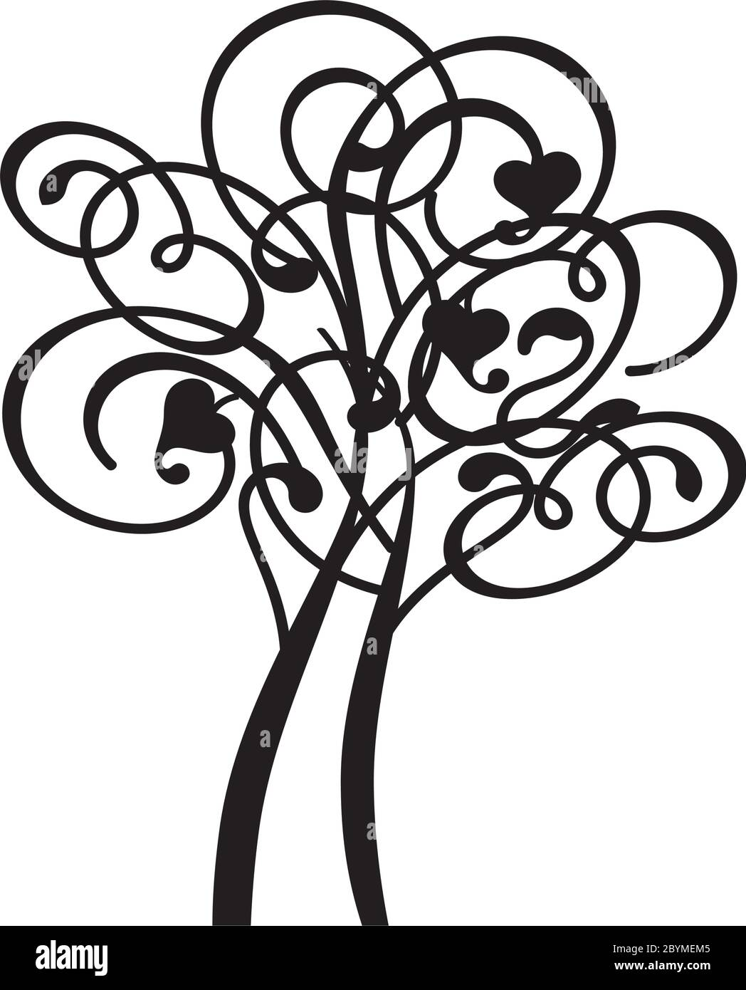 Tree Of Life Illustration High Resolution Stock Photography And Images Alamy It premiered on october 6 , 2019 , and is the eleventh episode in the third season. https www alamy com spring decorative tree of life silhouette shape with leaves vector outline illustration plant in garden royalty free vector object image361253653 html