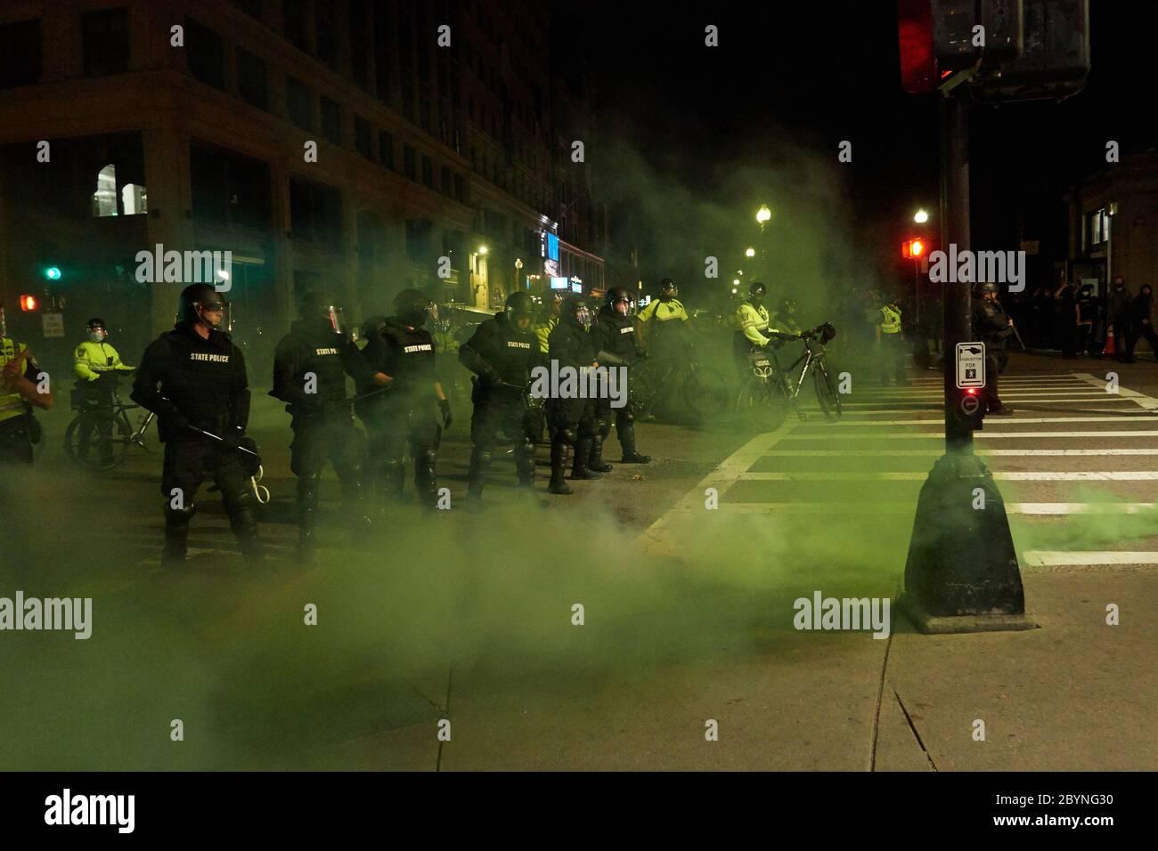 Boston Protest Riot 2020 Stock Photo Alamy