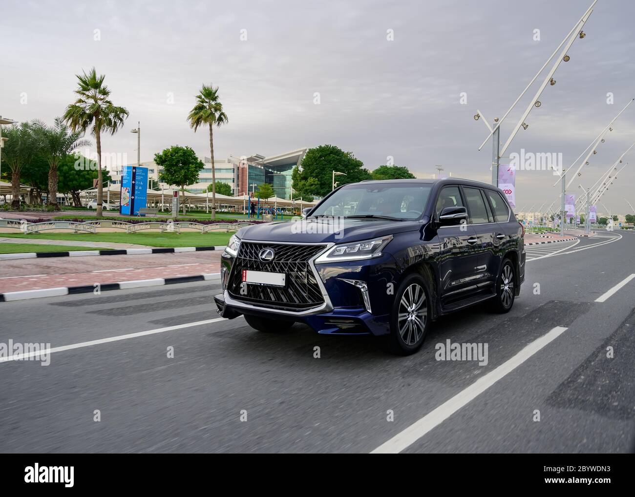 Lexus Lx 570 Model Of 2020 Full Size Luxury Suv A Luxury Division Of Toyota Stock Photo Alamy