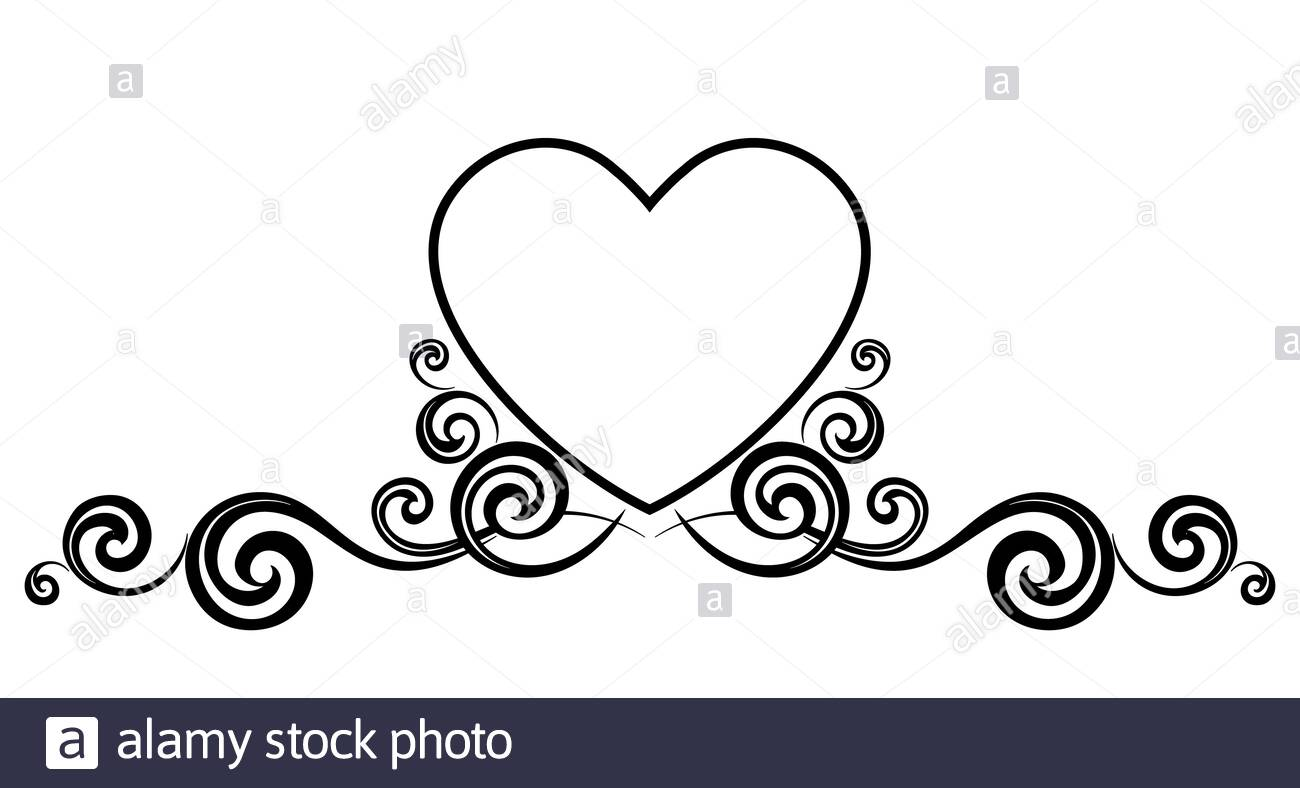 Free Hearts Black And White, Download Free Clip Art, Free Clip Art on  Clipart Library