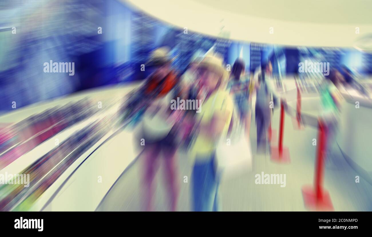 Abstract Background Barcelona Tourist Information Centre Radial Zoom Blur Effect Defocusing Filter Applied With Vintage Inst Stock Photo Alamy