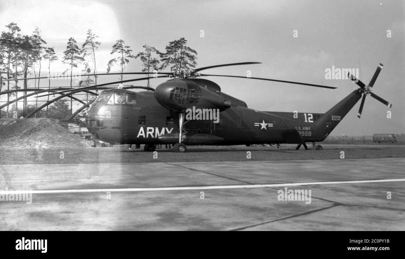 US ARMY / United States Army Sikorsky CH-37B Mojave S-56 Stock Photo