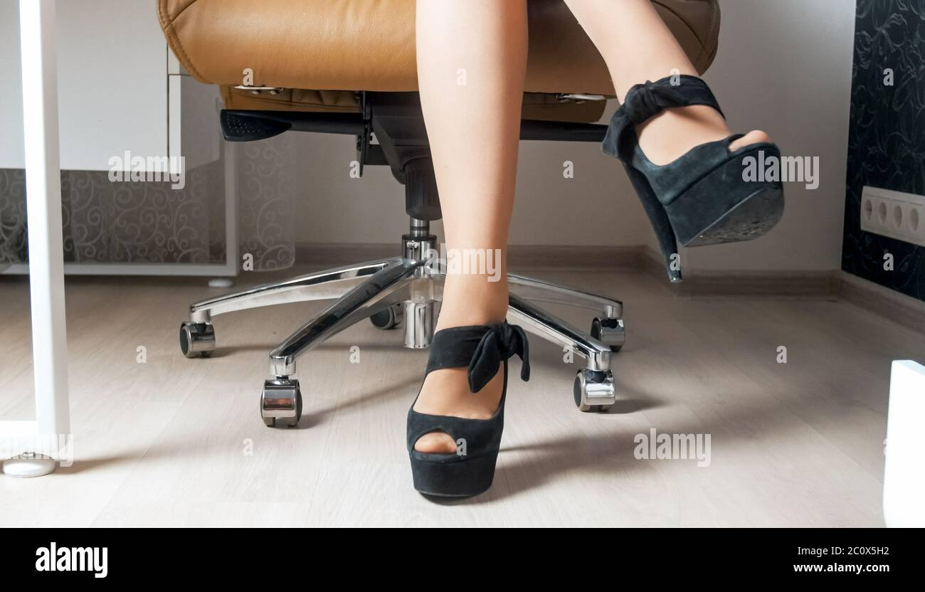 Pantyhose office I Wore