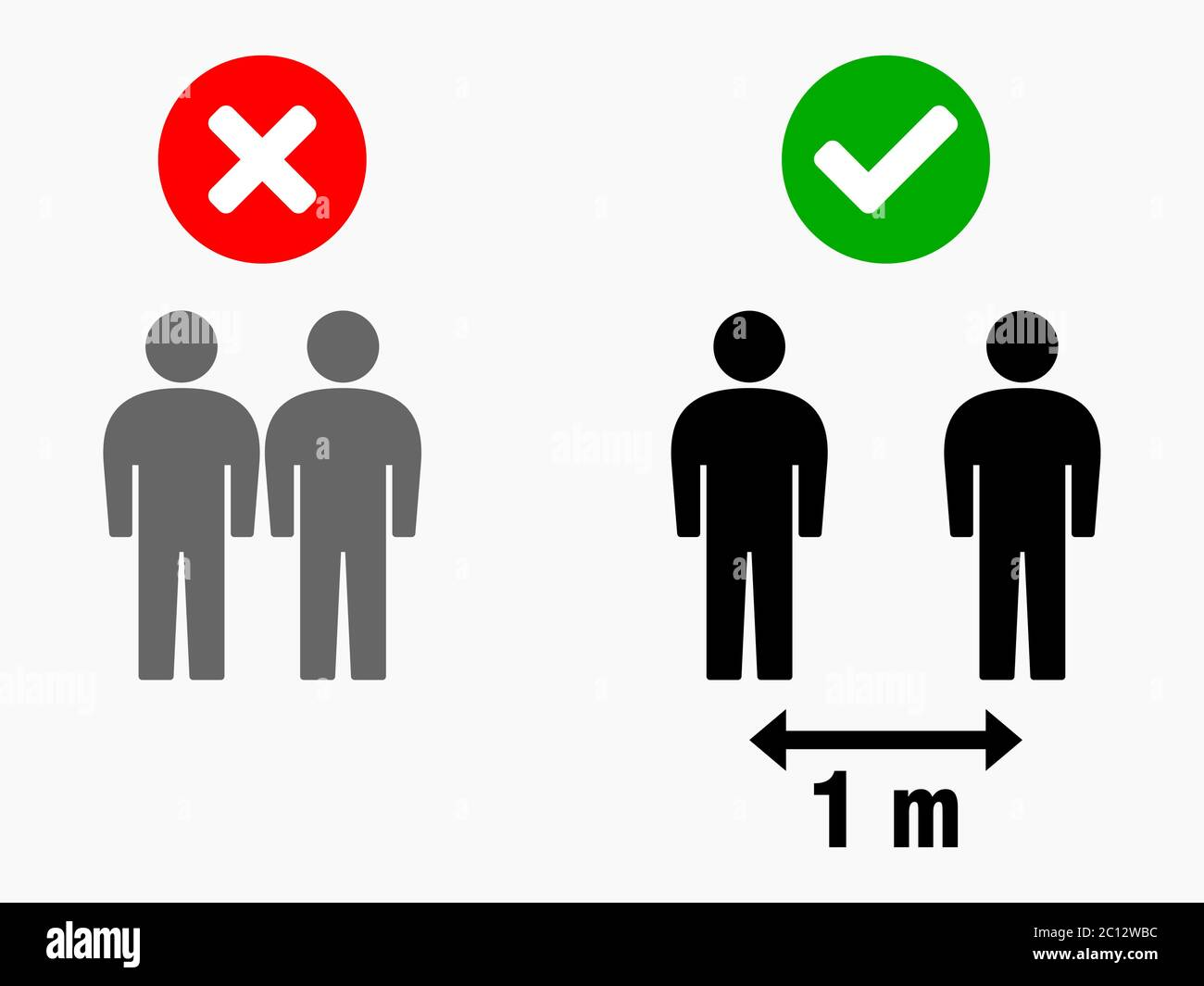 Social Distancing Keep Your Distance 1 M Or 1 Metre Infographic Icon Vector Image Stock Vector Image Art Alamy Free vector icons in svg, psd, png, eps and icon font. https www alamy com social distancing keep your distance 1 m or 1 metre infographic icon vector image image362096208 html
