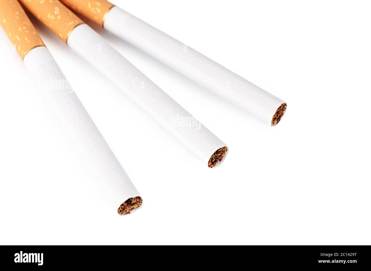 Close Up Tobacco Cigarettes Background Or Texture Stock Photo Alamy