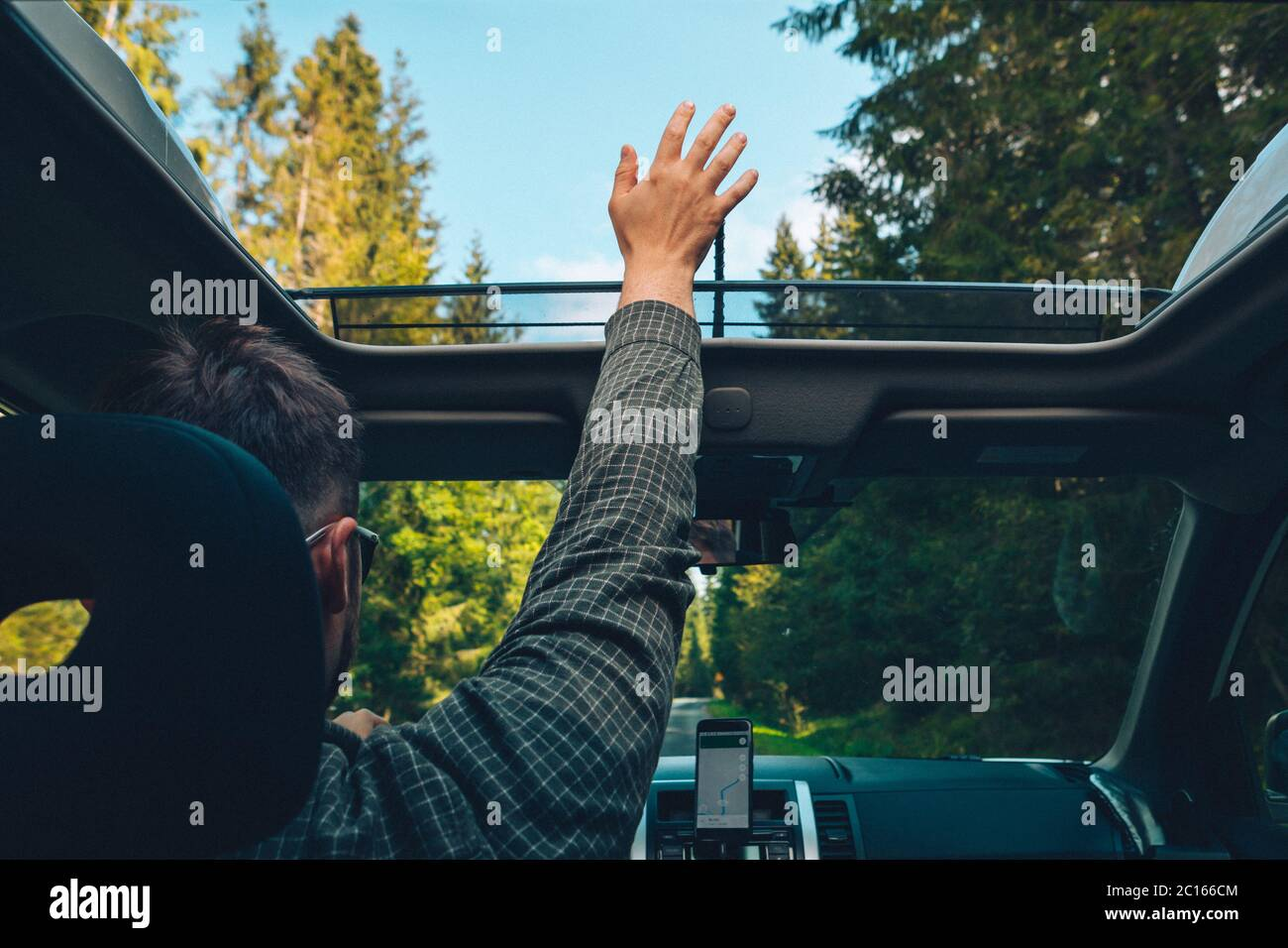 Car Sunroof High Resolution Stock Photography And Images Alamy