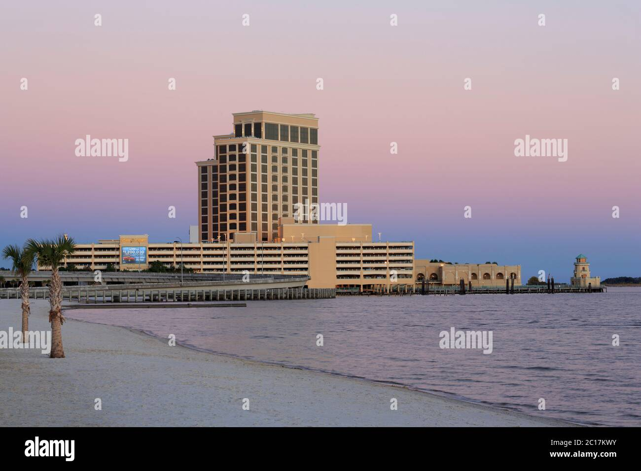 Page 2 Biloxi Mississippi Beach High Resolution Stock