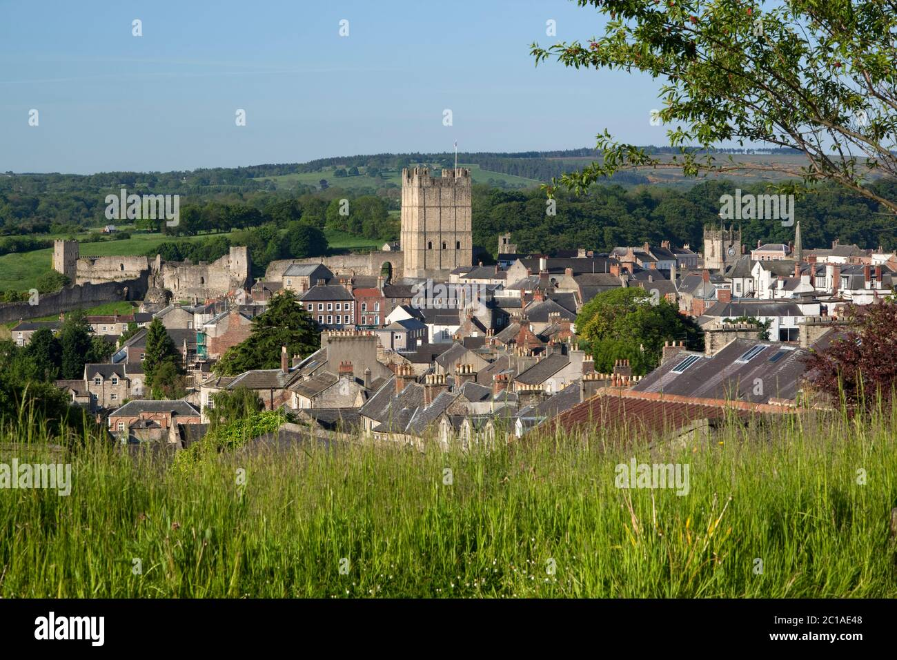 Richmond North Yorkshire High Resolution Stock Photography And Images Alamy