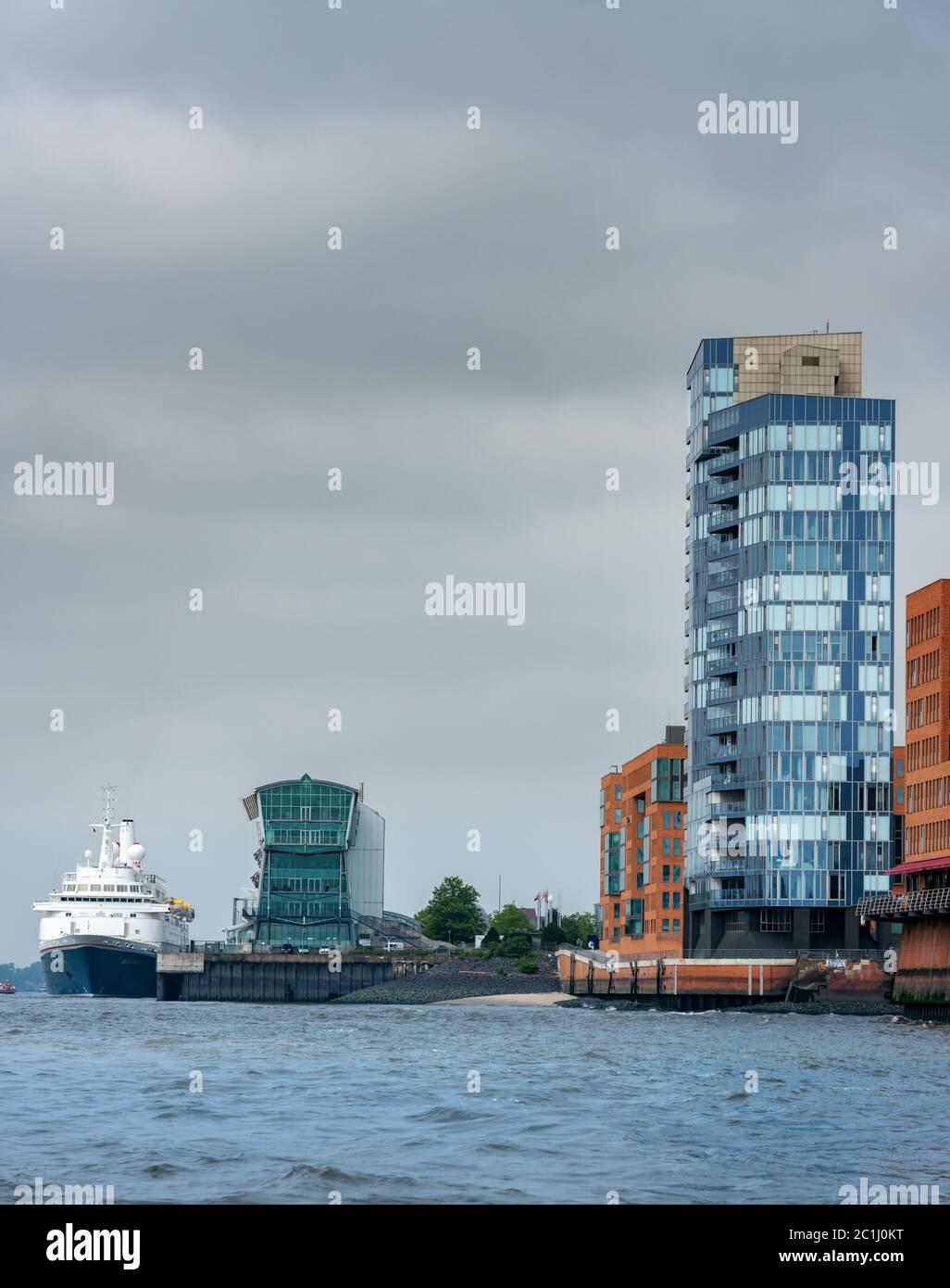 Hamburg port Stock Photo