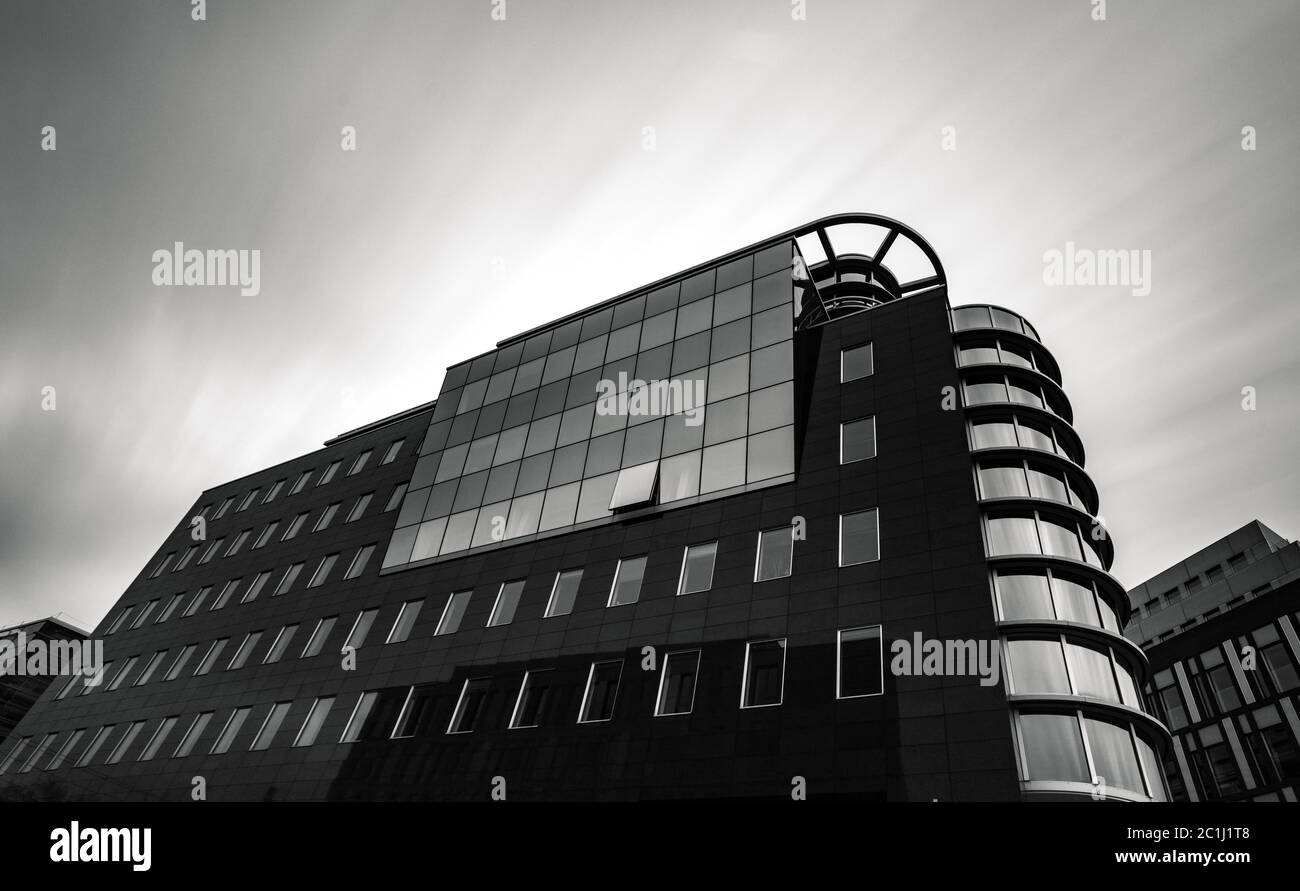 Office building Spree Eck Stock Photo