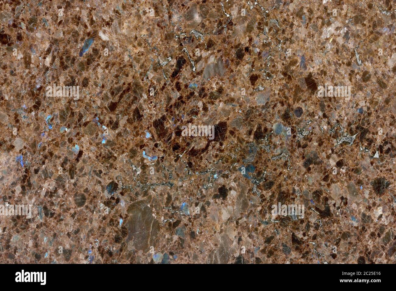 Real Natural Pattern Of Granite Brown Color Polished Slice Mineral Super High Resolution Granite Labrador Antique Texture Pattern Background Stock Photo Alamy