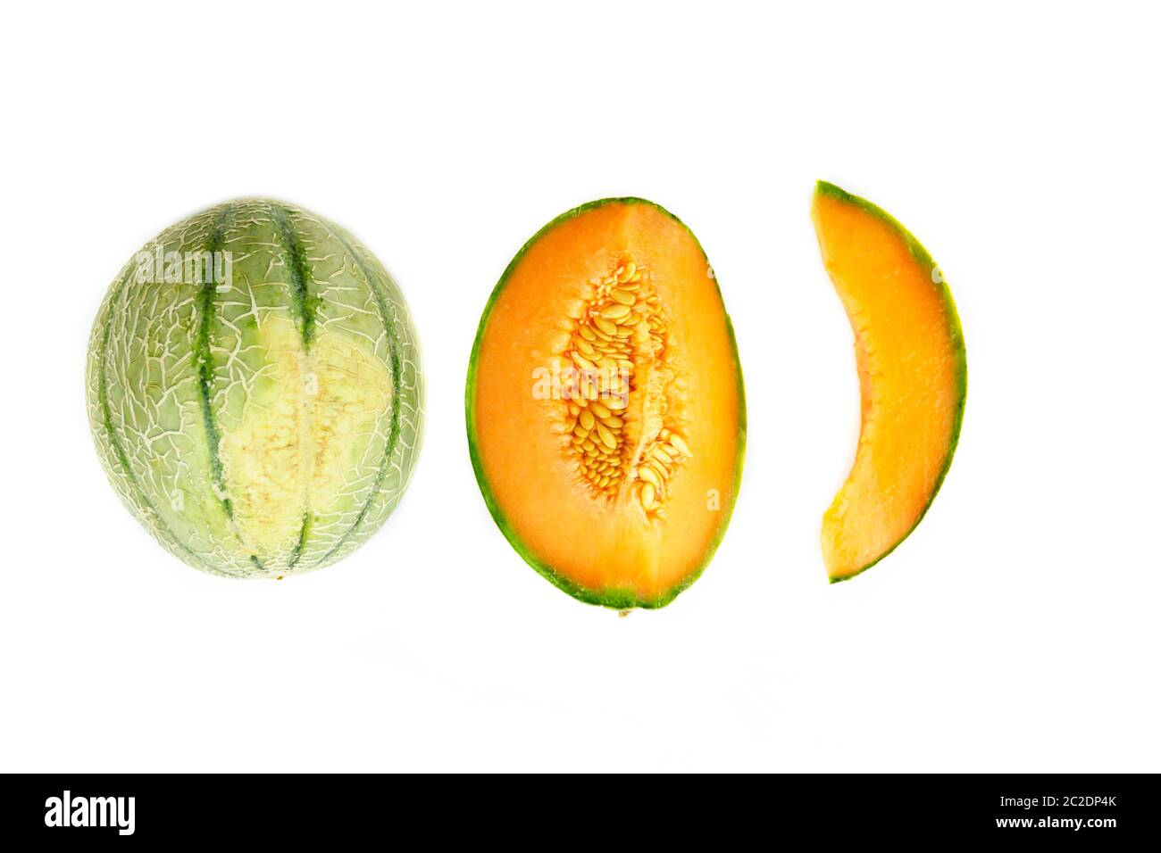 Healthy Eating And Dieting Food Concept Cantaloupe Fruit Composition And Design Element Top View Flat Lay Stock Photo Alamy Cantaloupe is a type of melon belonging to the cucurbitaceae family which also includes fruits and vegetables like is cantaloupe good for you? alamy