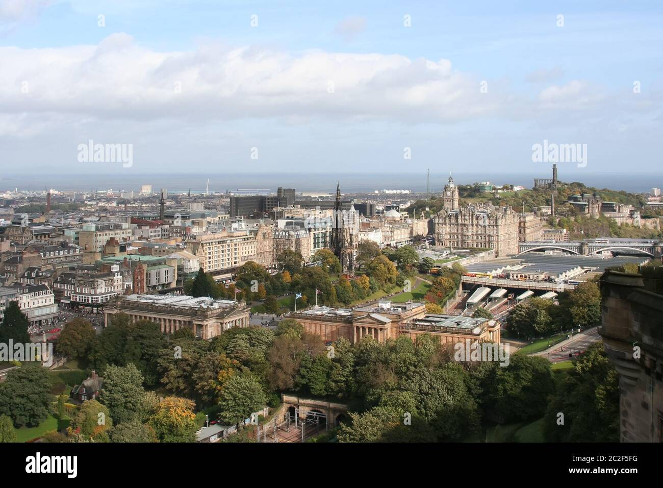 Edinburgh capital city of Scotland Great Britain UK Stock Photo