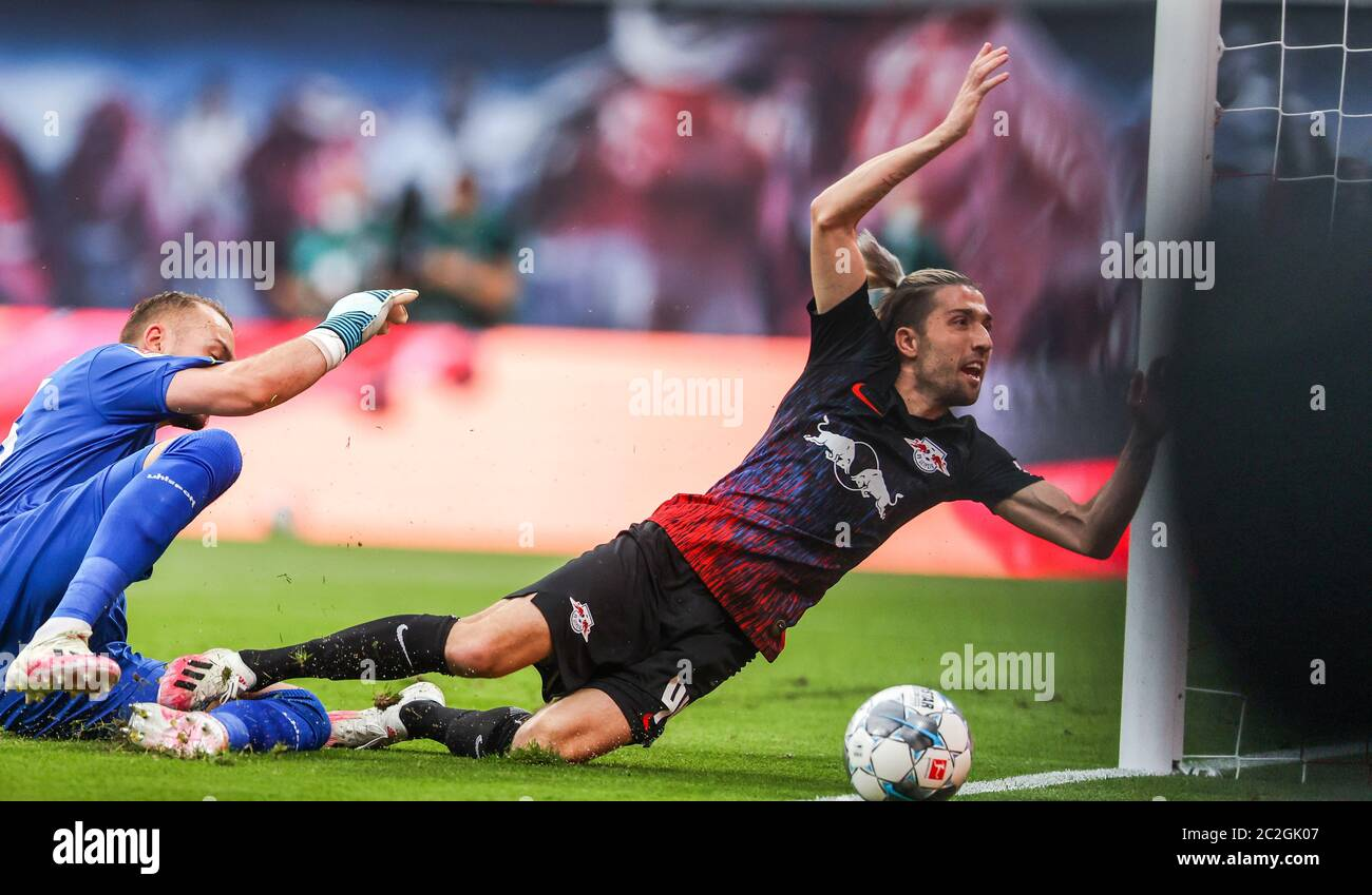 Leipzig Germany 17th June 2020 Football Bundesliga 32nd Matchday Rb Leipzig Fortuna Dusseldorf In The Red