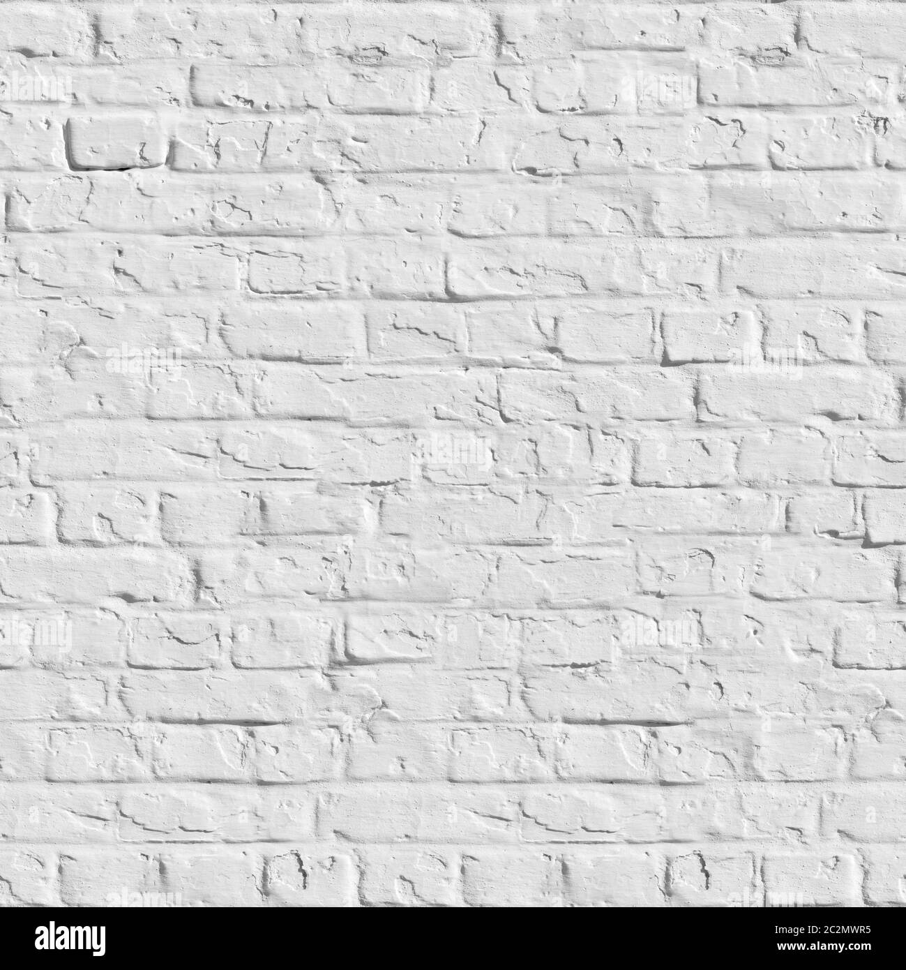 Old White Brick Wall Seamless Tileable Texture Stock Photo Alamy