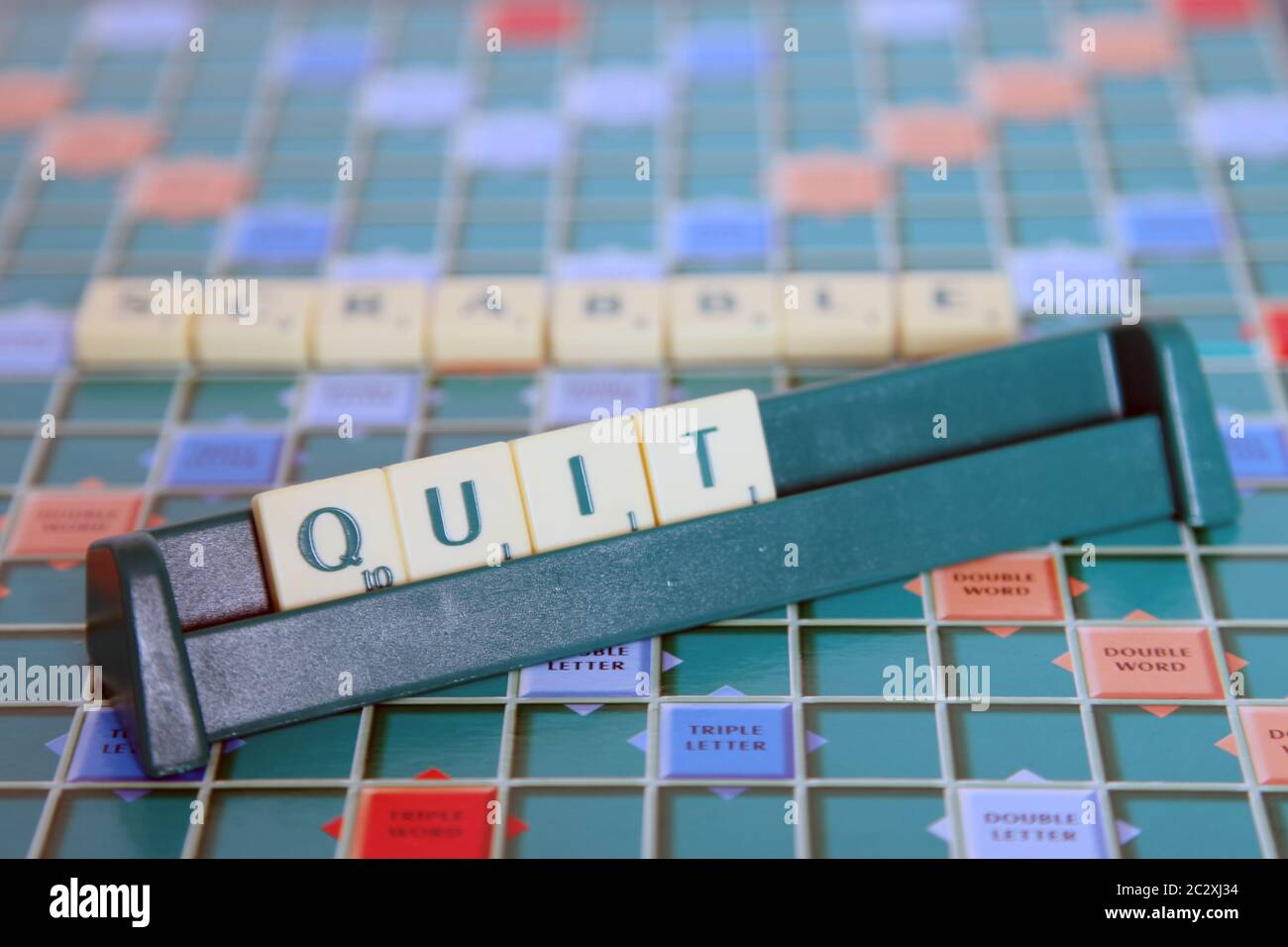 Scrabble Words High Resolution Stock Photography And Images Alamy