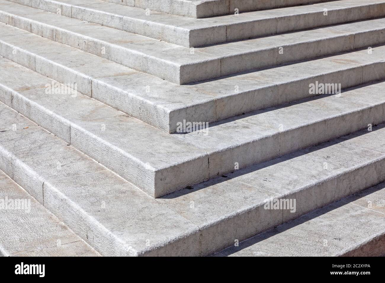 White Marble Stone Stairs In Bologna Italy Stock Photo Alamy