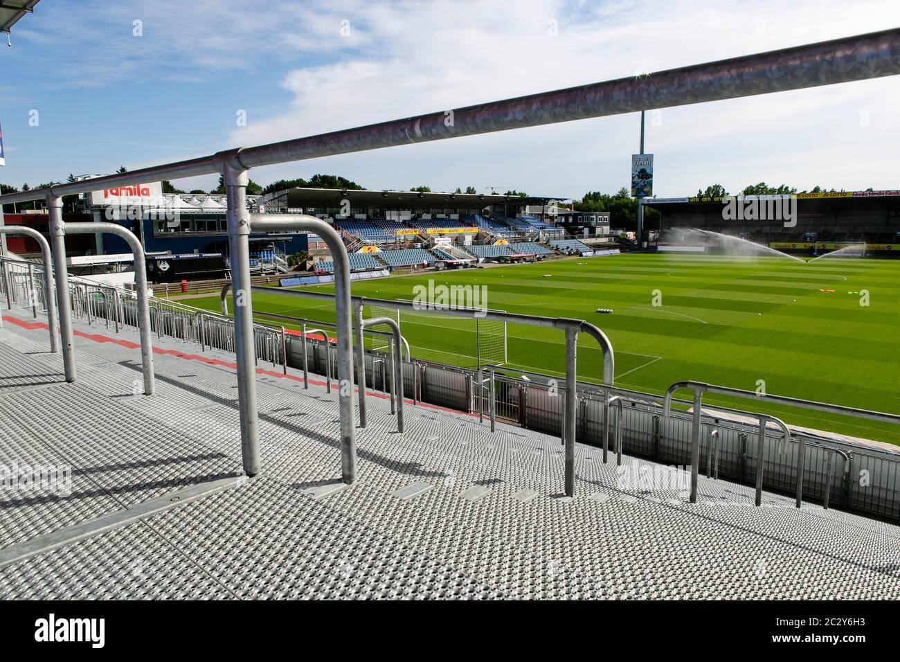 Kiel Germany 18th June 2020 Football 2nd Bundesliga Holstein Kiel Dynamo Dresden 32nd Matchday View From