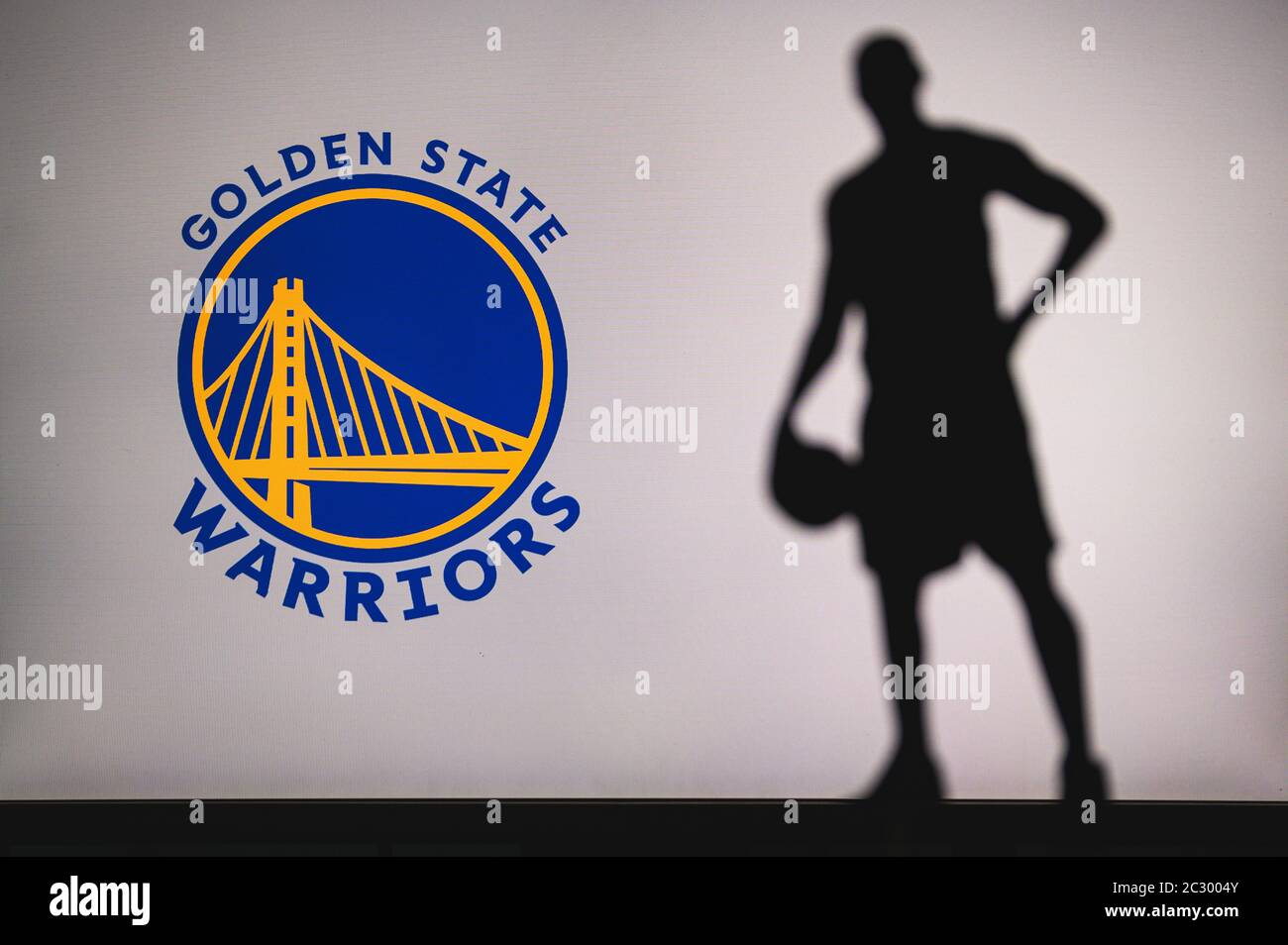Golden State Warriors Logo High Resolution Stock Photography And Images Alamy
