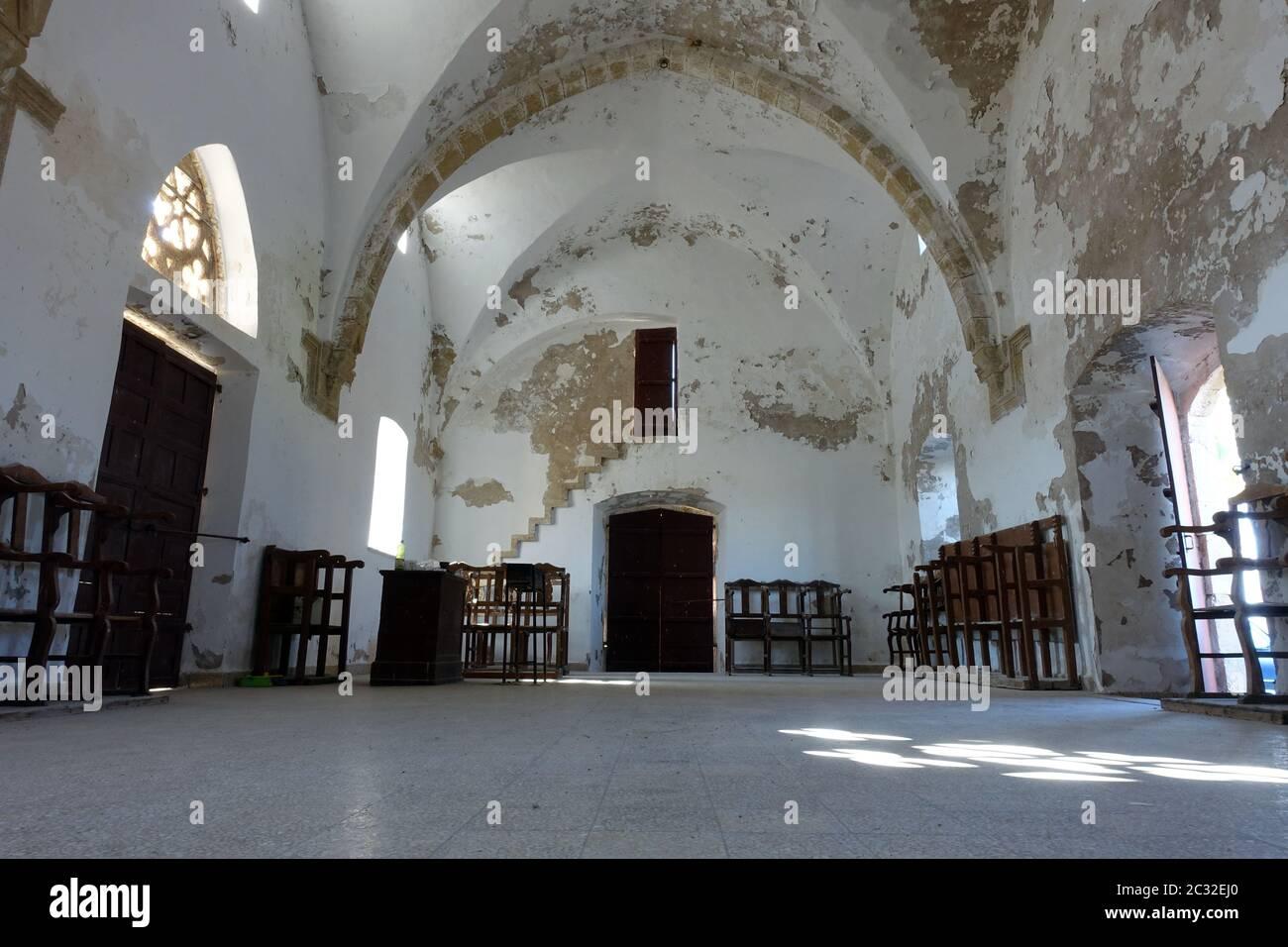Church of St. Thyrsos, also Therisos Stock Photo