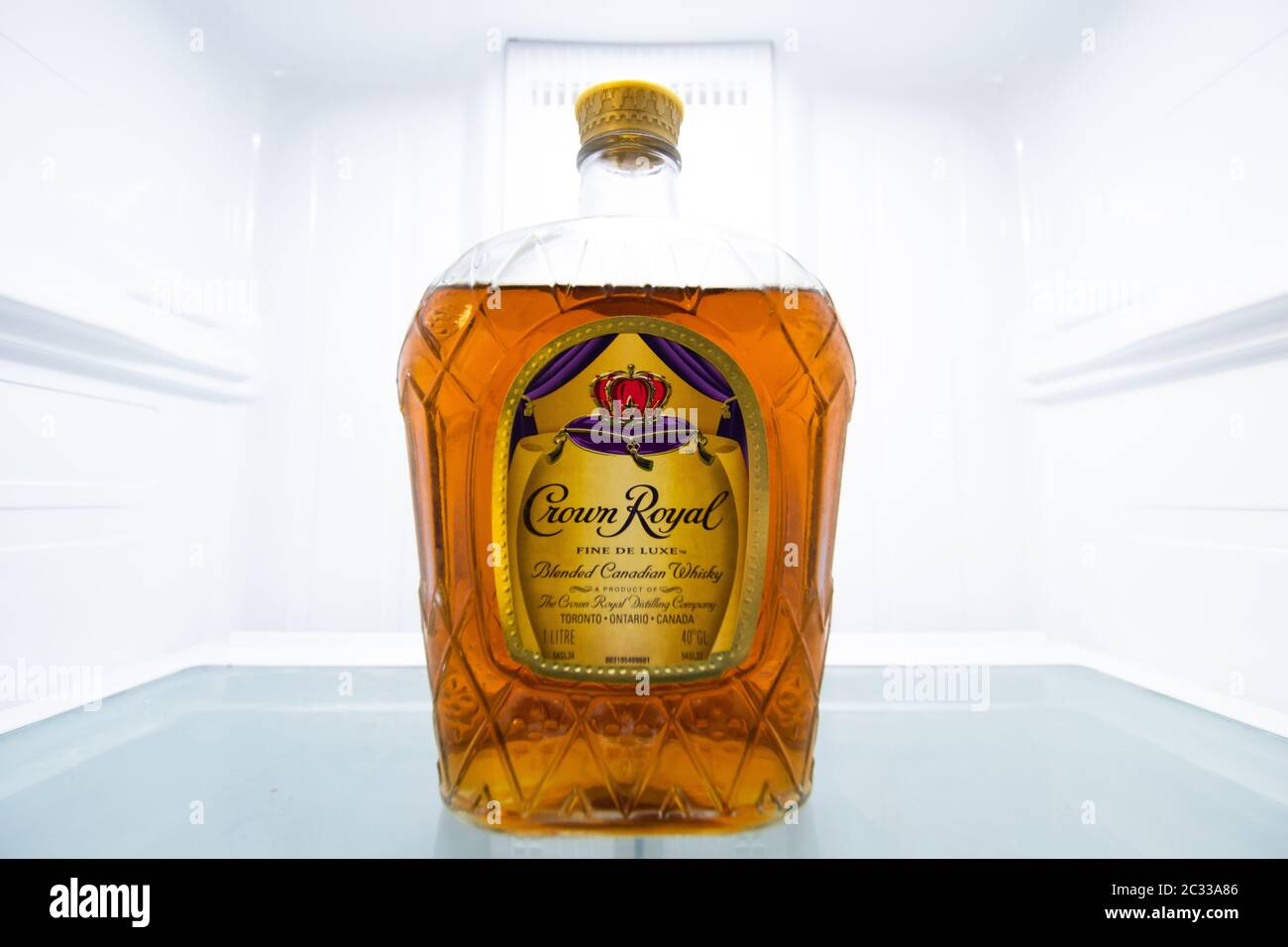 Crown Royal Bottle High Resolution Stock Photography And Images Alamy Ww review #1 crown royal monarch (batch 10). https www alamy com bottle of crown royal in an empty fridge image363335622 html