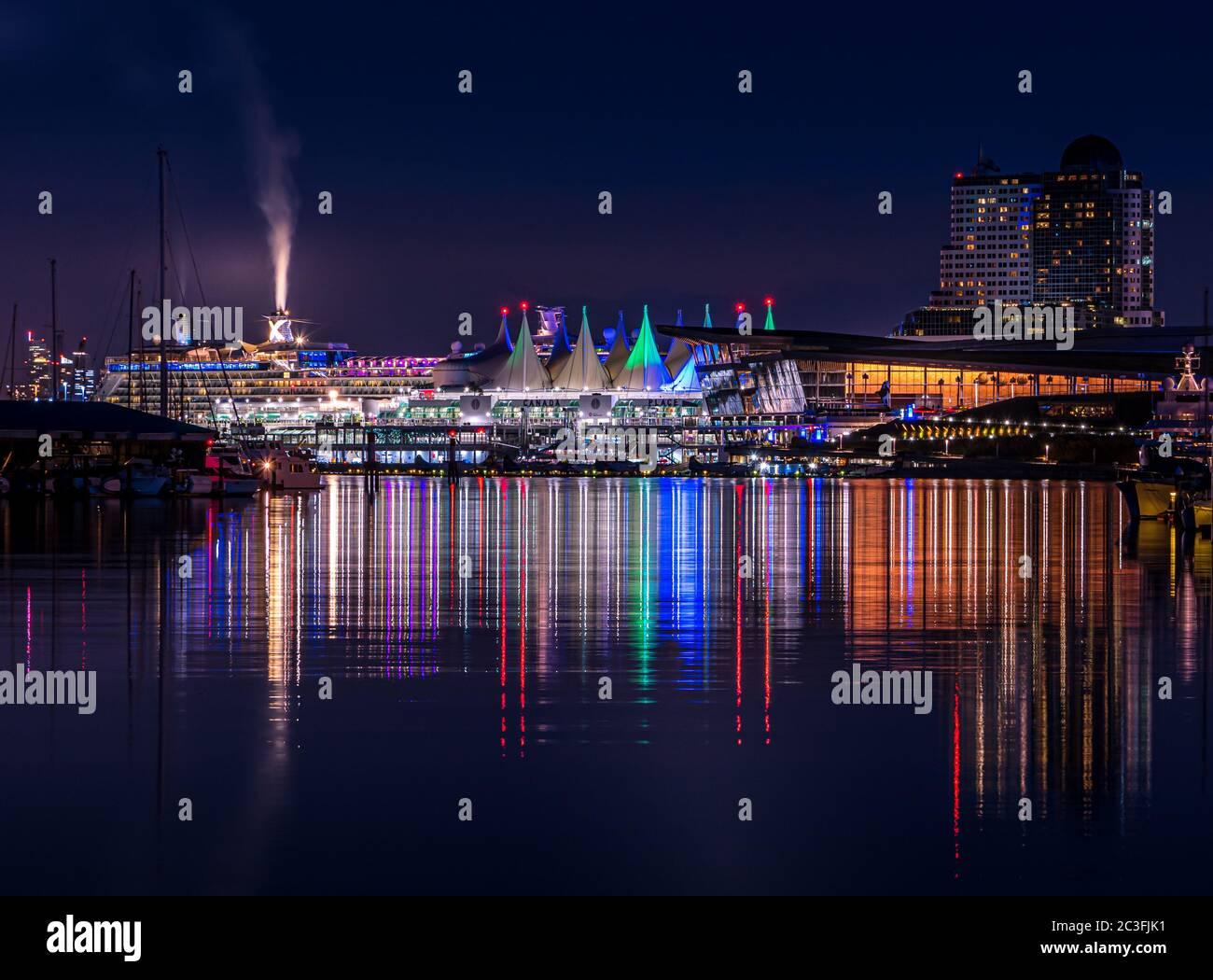 View of Vancouver, British columbia, Canada Stock Photo