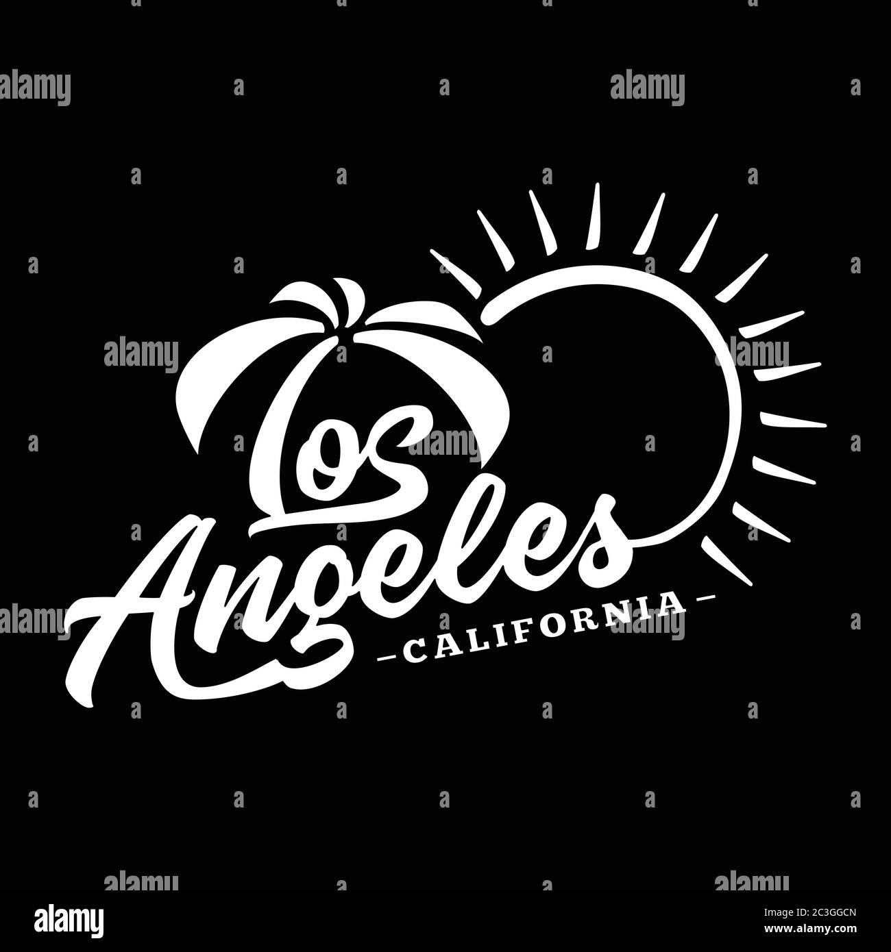 Los Angeles Black And White Lettering Design Decorative Inscription Vintage Vector And Illustration Stock Vector Image Art Alamy,Clash Of Clans Builder Hall 4 Base Design