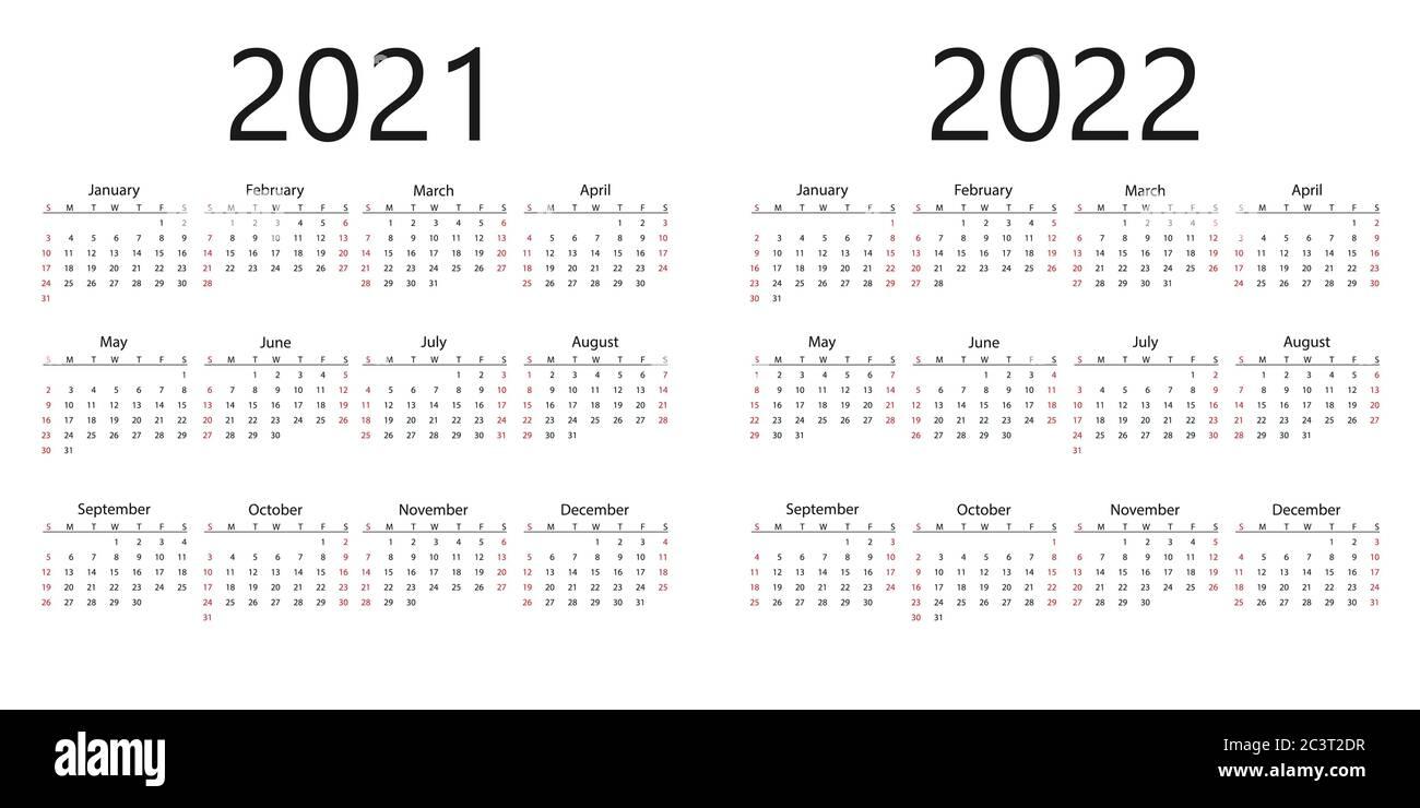 University Of Florida Calendar 2022 23.2022 Calendar High Resolution Stock Photography And Images Alamy