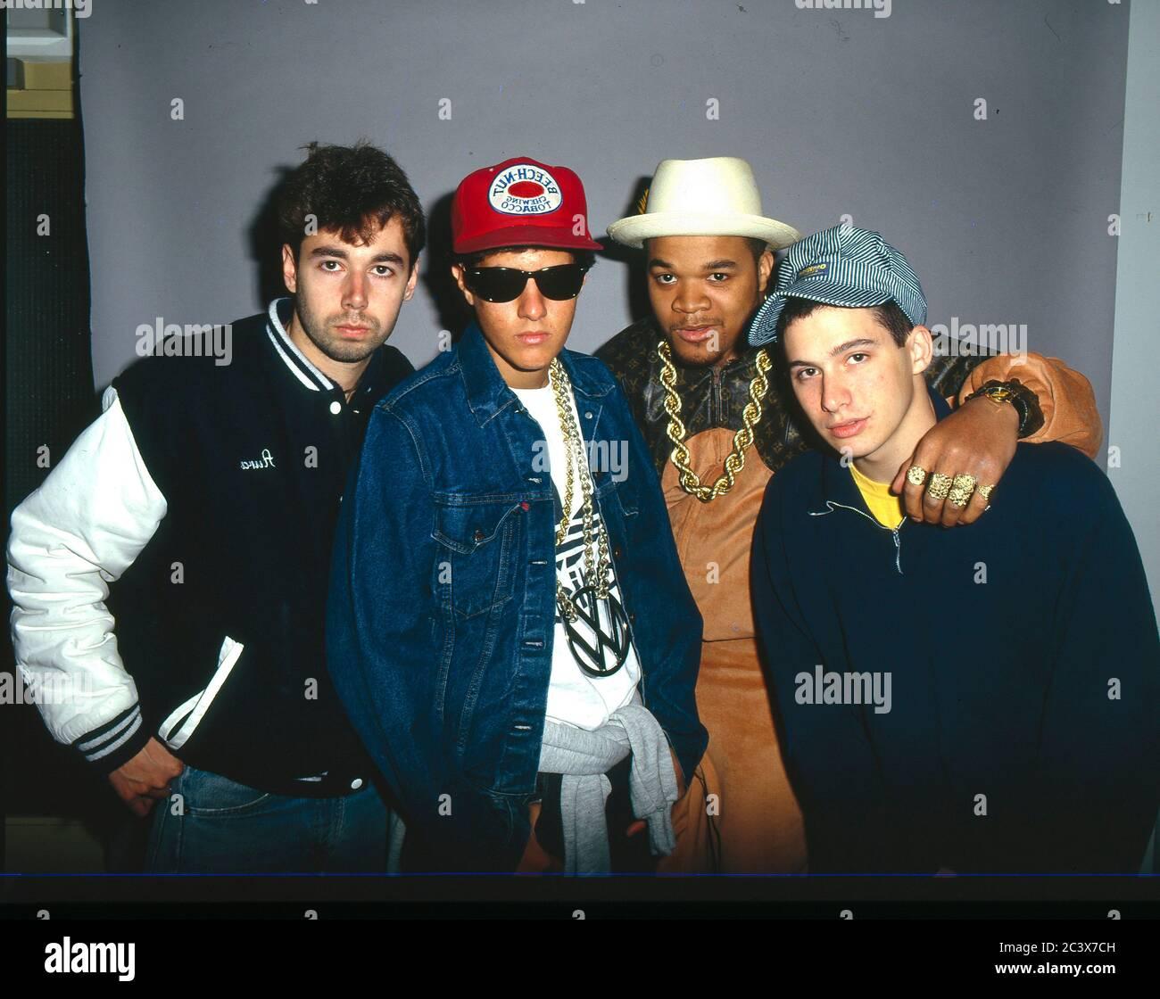 Beastie Boys 1988 Stock Photo