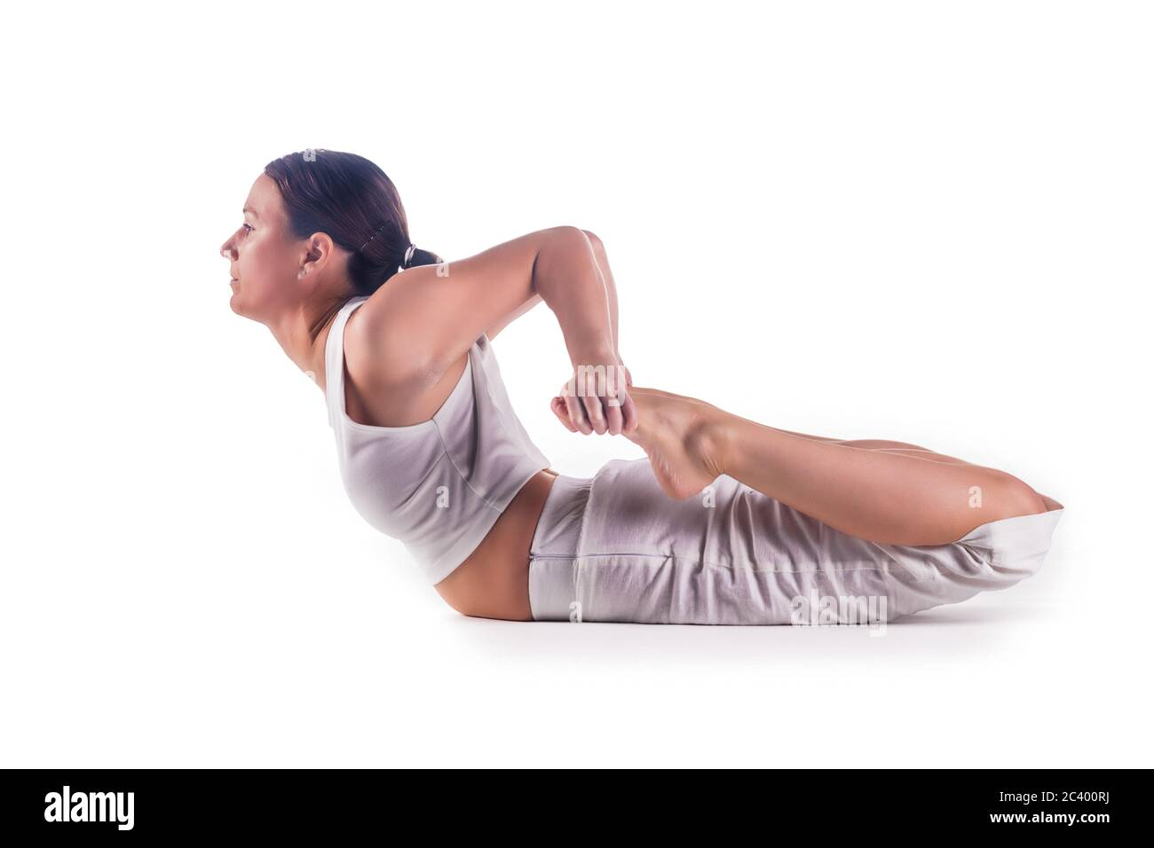 Frog Pose Yoga High Resolution Stock Photography and Images - Alamy