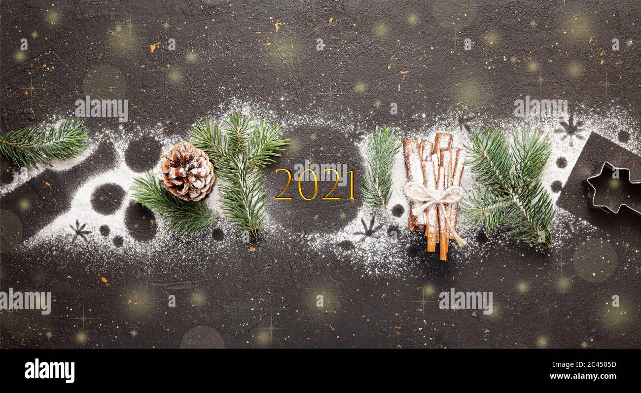 greeting card happy new year 2021 and merry christmas christmas tree snow and decorations copy space stock photo alamy https www alamy com greeting card happy new year 2021 and merry christmas christmas tree snow and decorations copy space image363986265 html