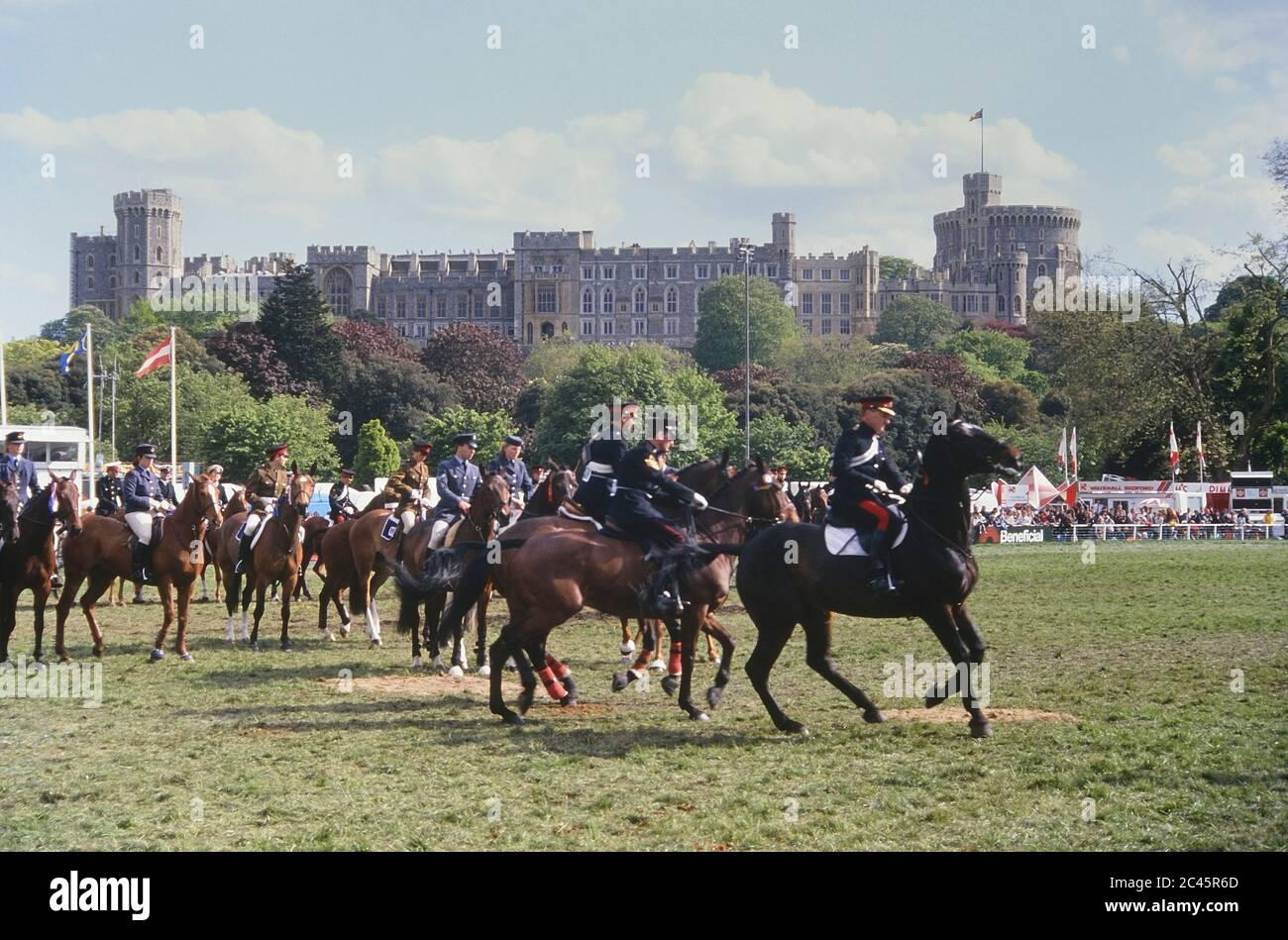 Royal Windsor Horse Show. Berkshire, England, UK. 1989 Stock Photo