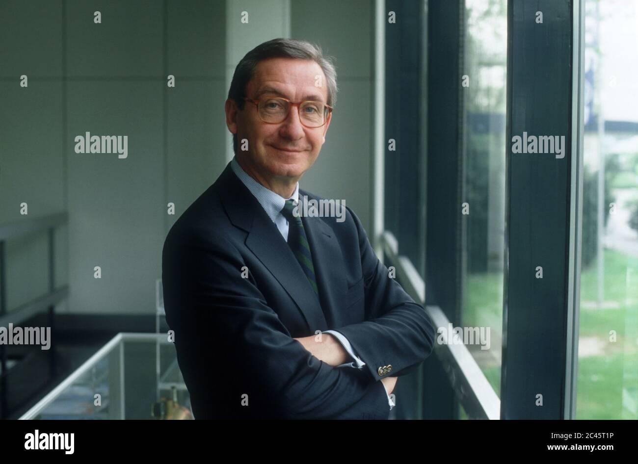 Dr. Ulrich Lehner - CEO of Henkel KGaA - Germany Stock Photo