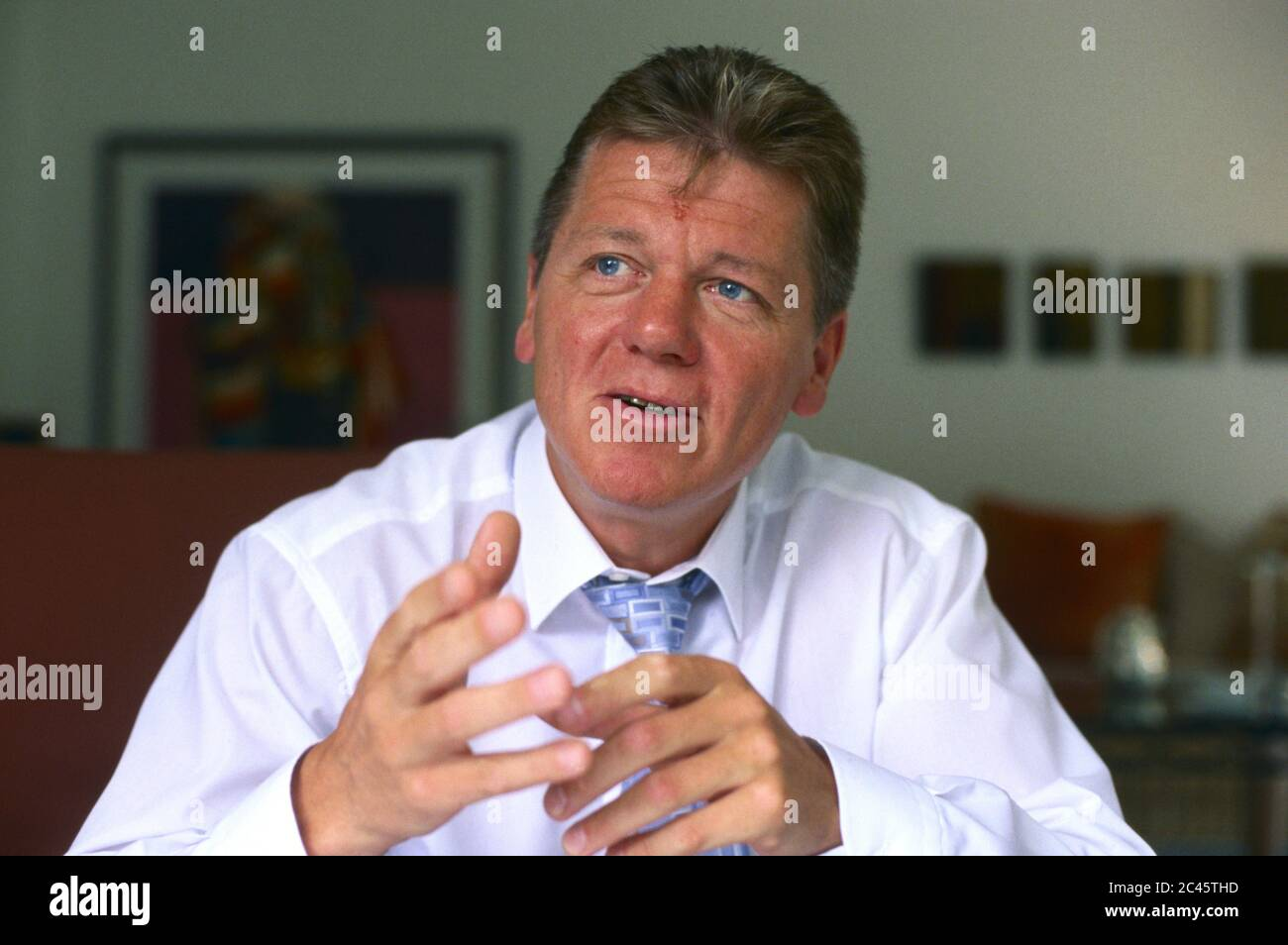 Dr. Reinhard K. Sprenger - Personal Trainer and Author Stock Photo
