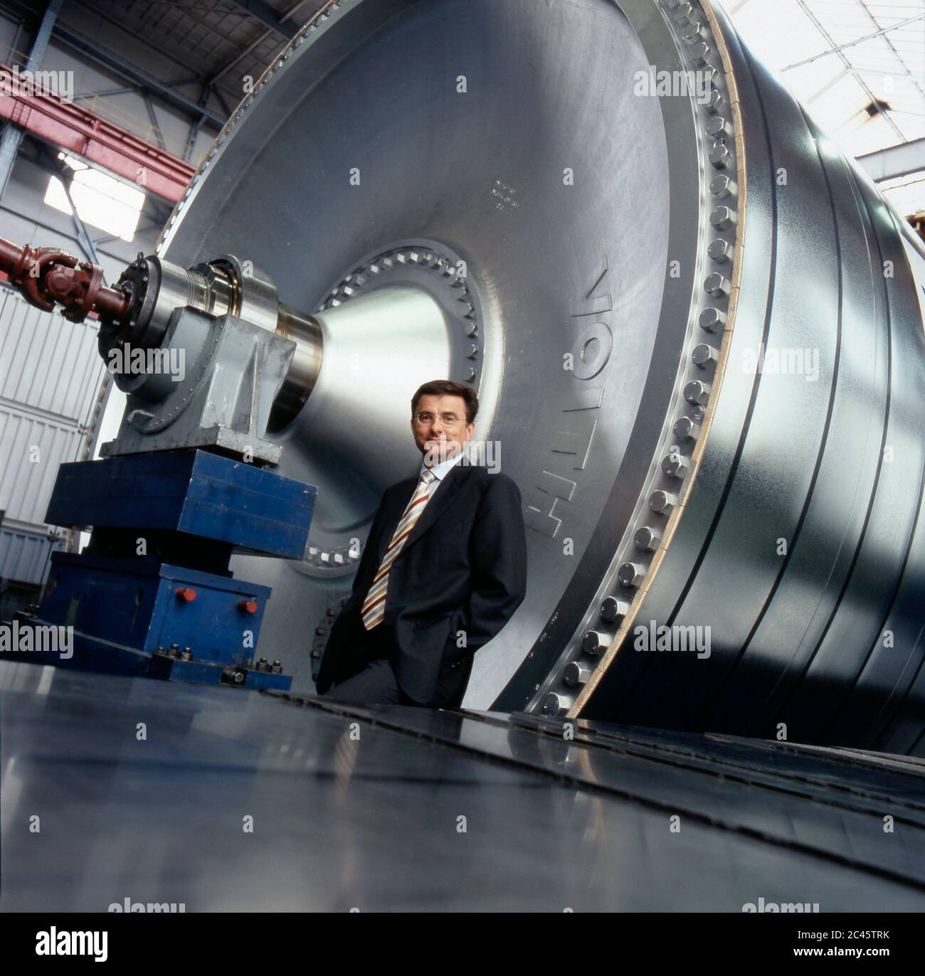 Dr. Hans-Peter Sollinger - Managing Director of Voith AG Stock Photo