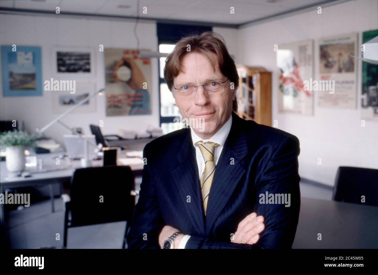 Klaus Dieter Frers - CEO of Paragon AG Stock Photo