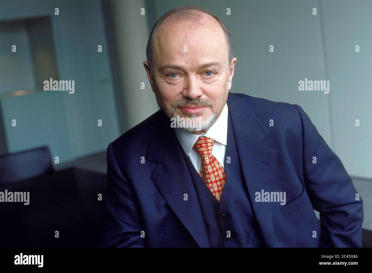 Dr. Richard R. Klein - Board member of RWE AG Stock Photo