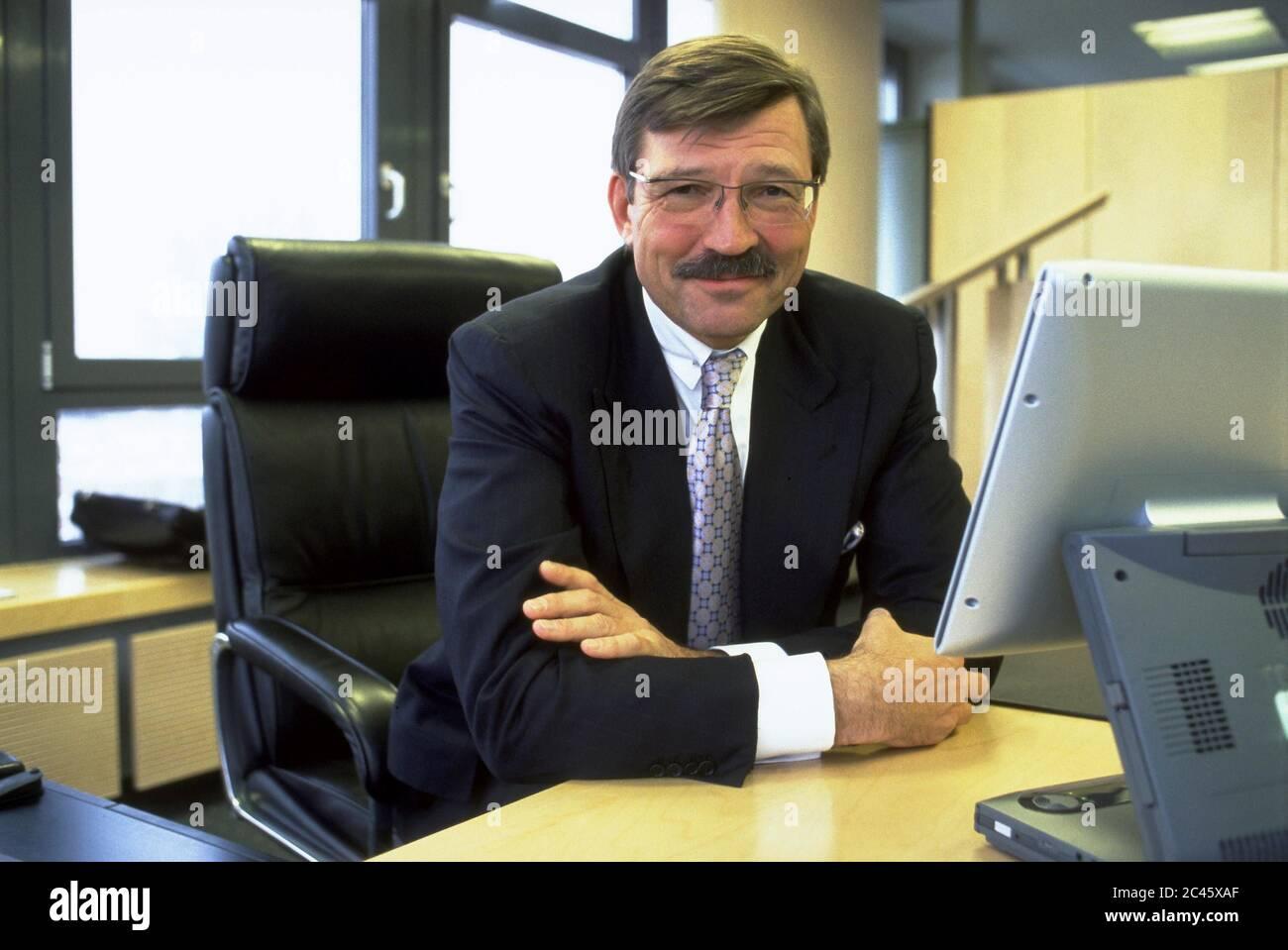 Dr. Hans-Joachim Körber - CEO of Metro AG Stock Photo