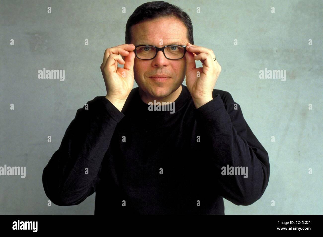 Peter Schreyer - chief designer KIA Motors Stock Photo