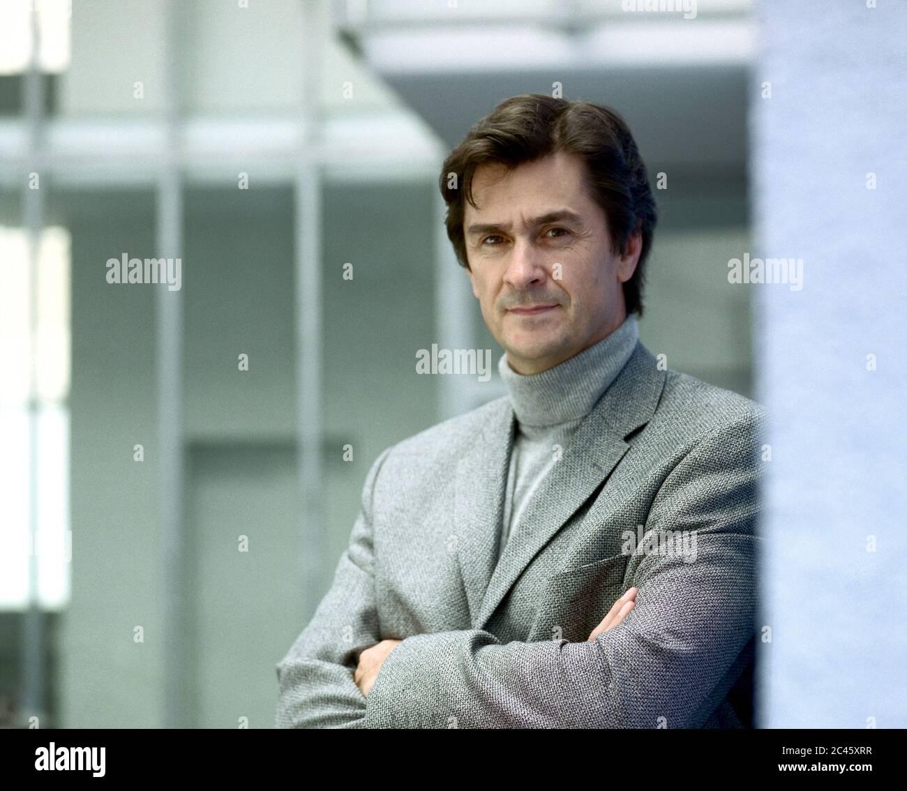 Joachim Dolatschko - managing director and financial broker at fc finanz consult Maklergesellschaft mbH Stock Photo
