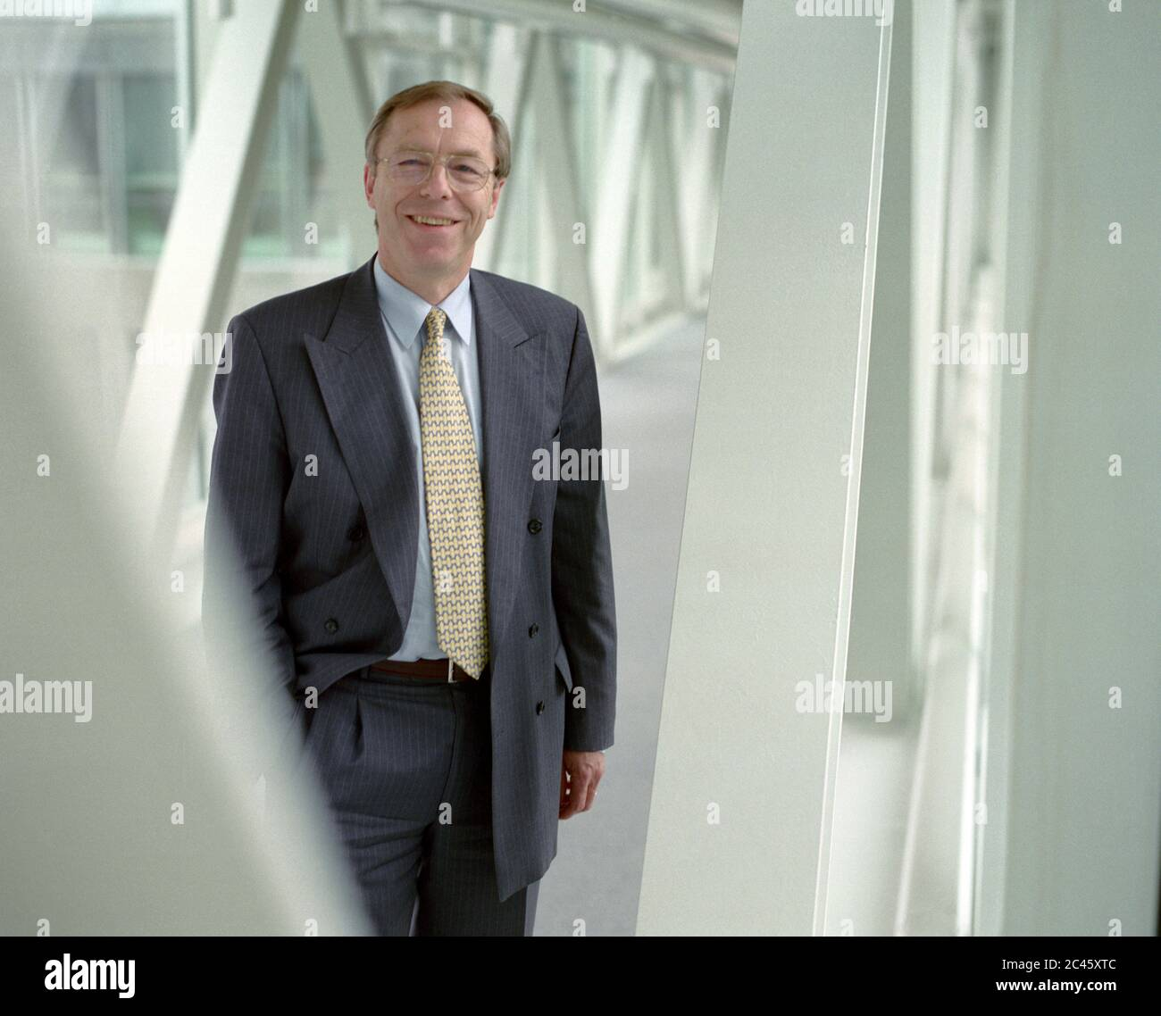 Walter Lechner - Board member of the Bavarian Insurance Chamber Stock Photo