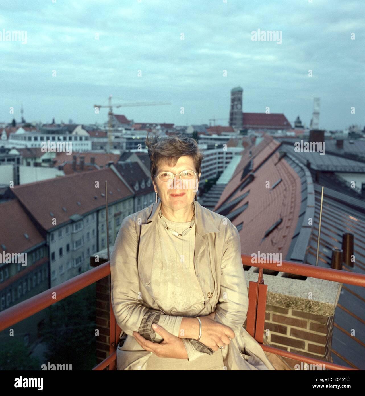 Christiane Thalgott - City Building Councilor Munich - Bavaria - Germany Stock Photo