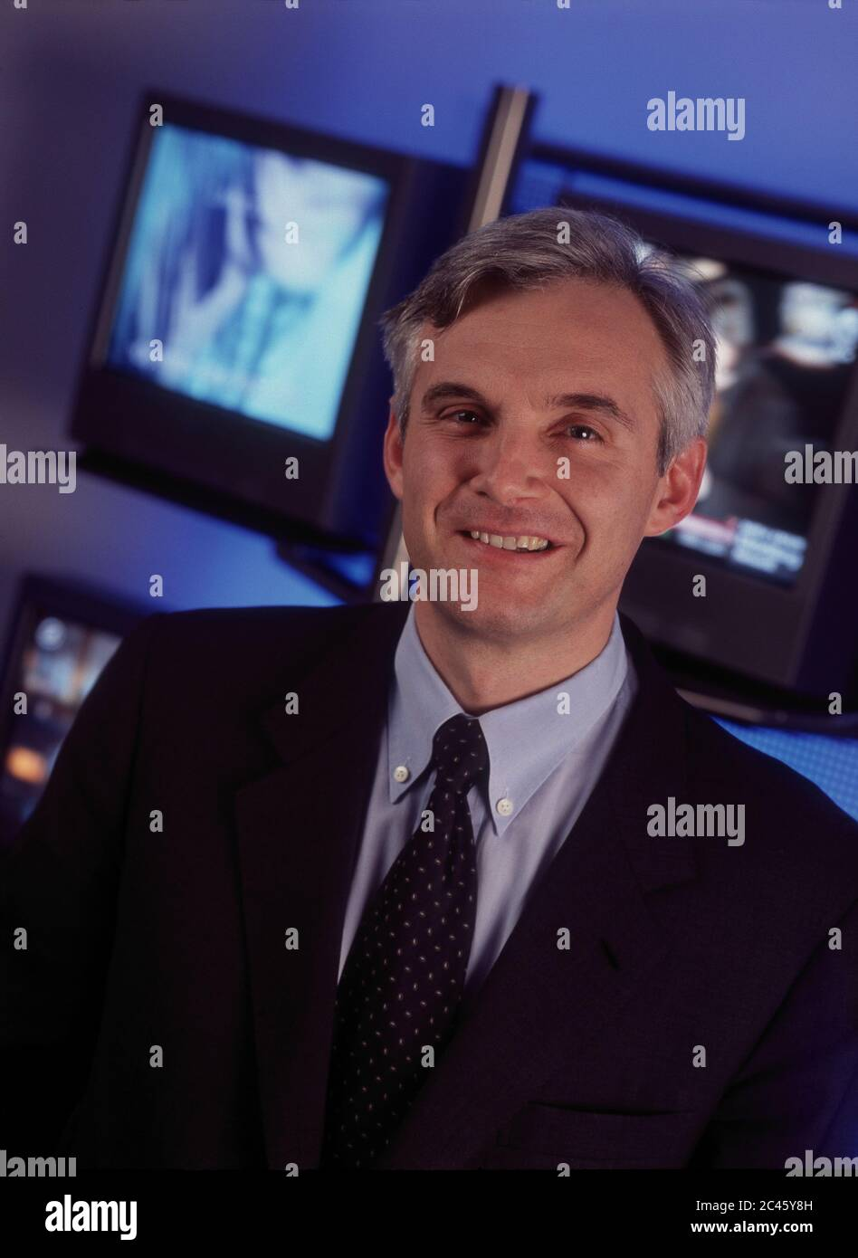 Urs Rohner - CEO of Pro7 Media AG Stock Photo
