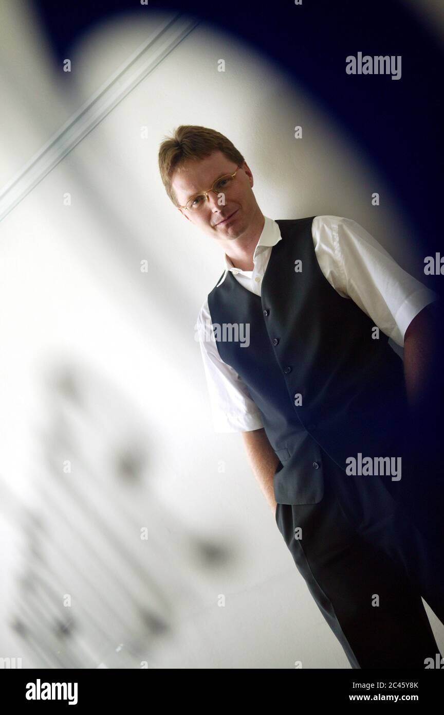 Manfred Klaus - Head of overture AG Germany Stock Photo