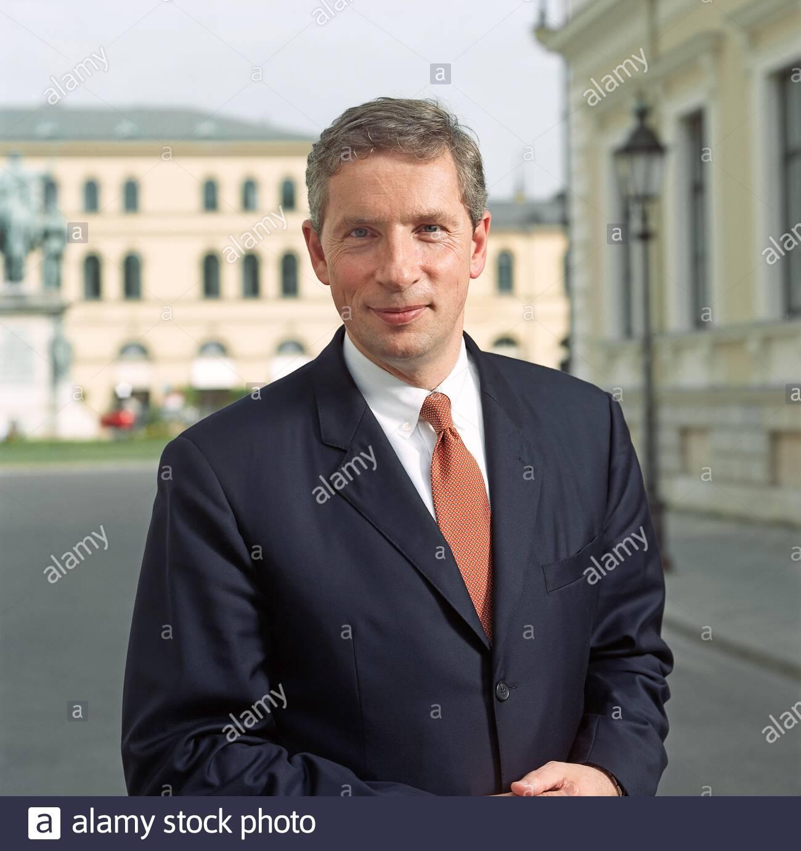 Klaus Kleinfeld - Ex-Siemens - Manager Stock Photo