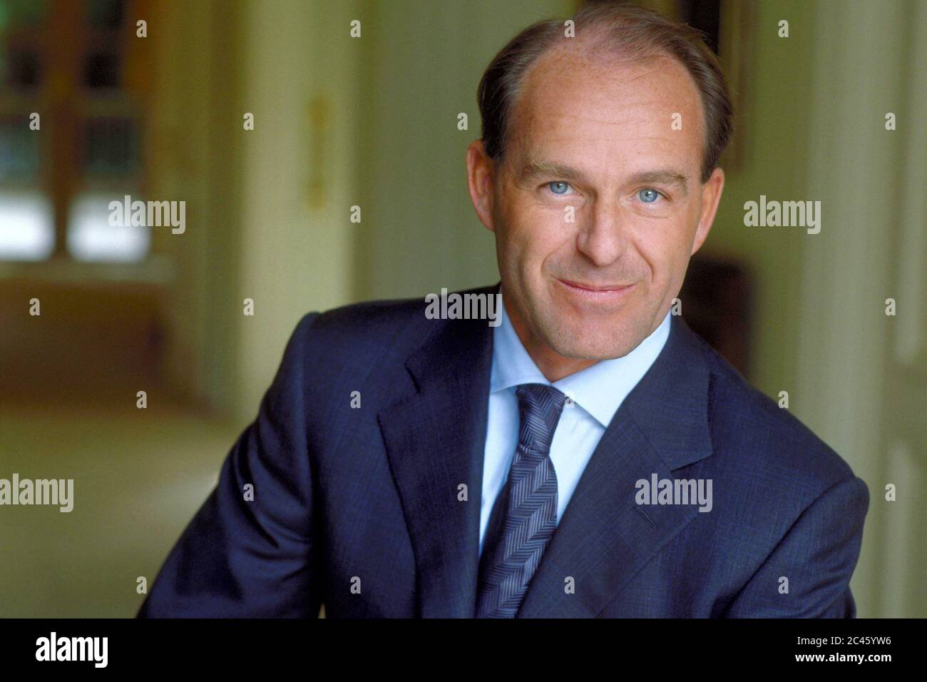 Karl-Erivan W. Haub - Managing Director of Tengelmann Holding Stock Photo