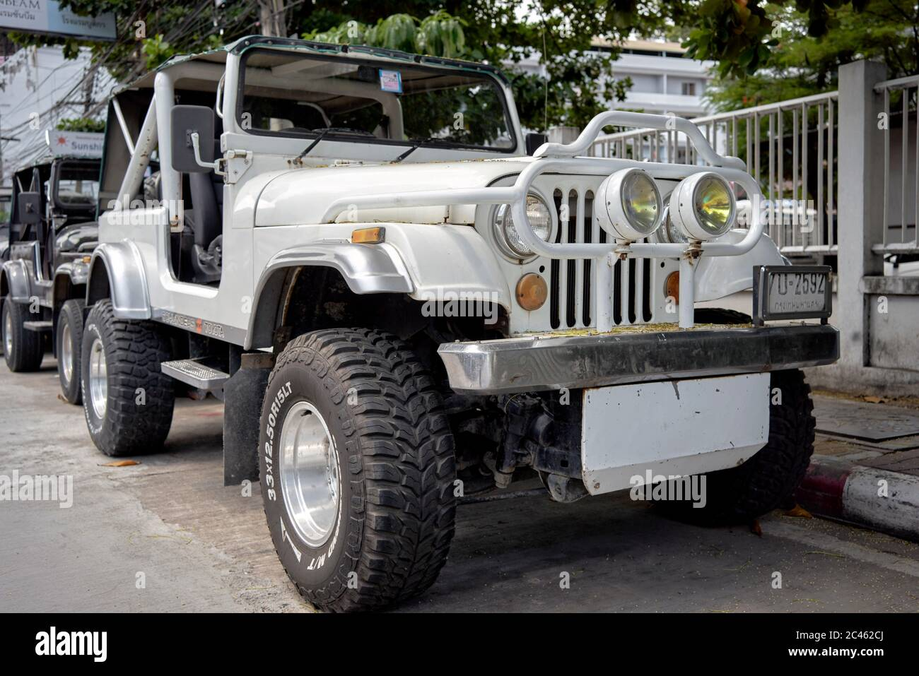 Jeep Wrangler Yj High Resolution Stock Photography And Images Alamy